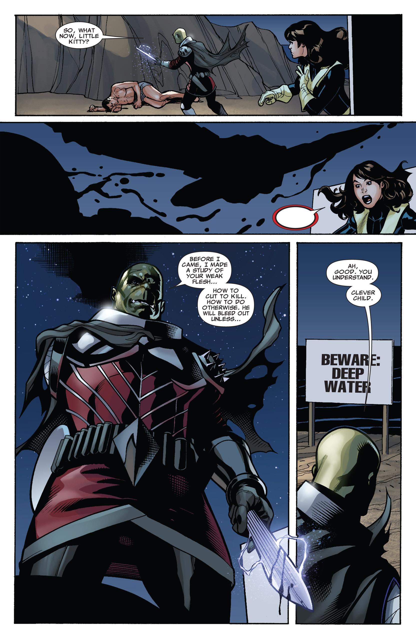 Read online Uncanny X-Men (1963) comic -  Issue #537 - 14