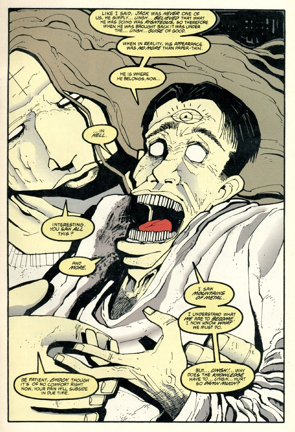 Read online Ted McKeever's Metropol comic -  Issue #8 - 3