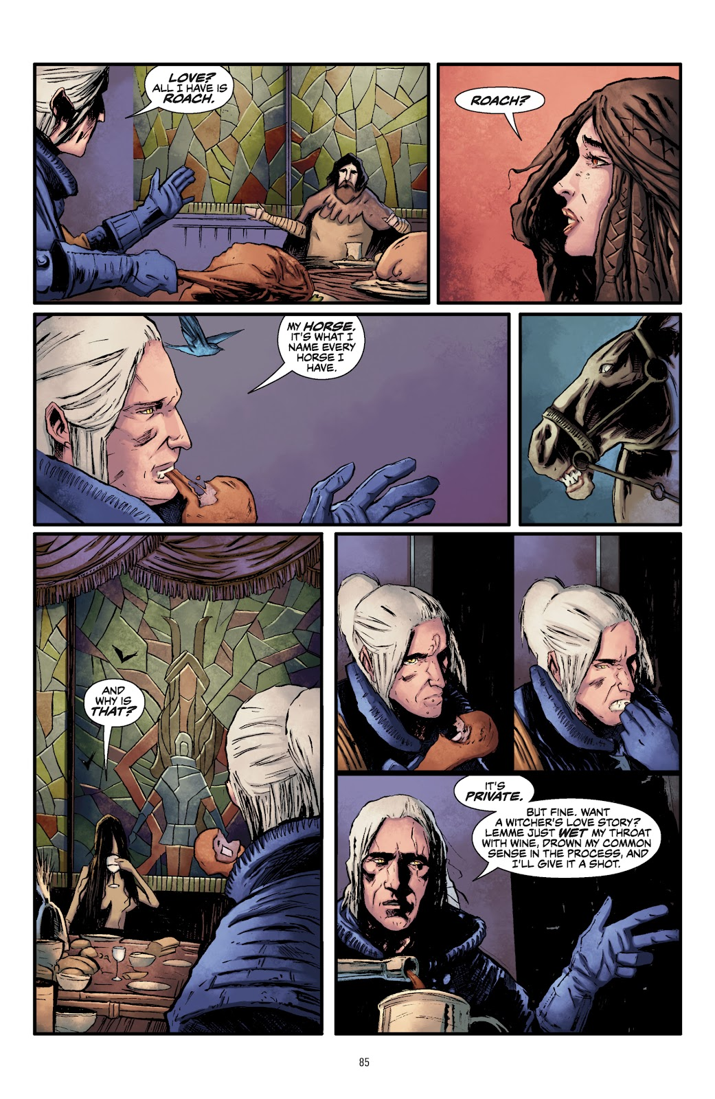 Read online The Witcher Omnibus comic -  Issue # TPB (Part 1) - 83