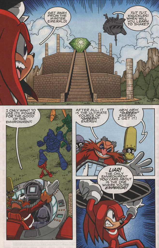 Read online Sonic X comic -  Issue #28 - 24