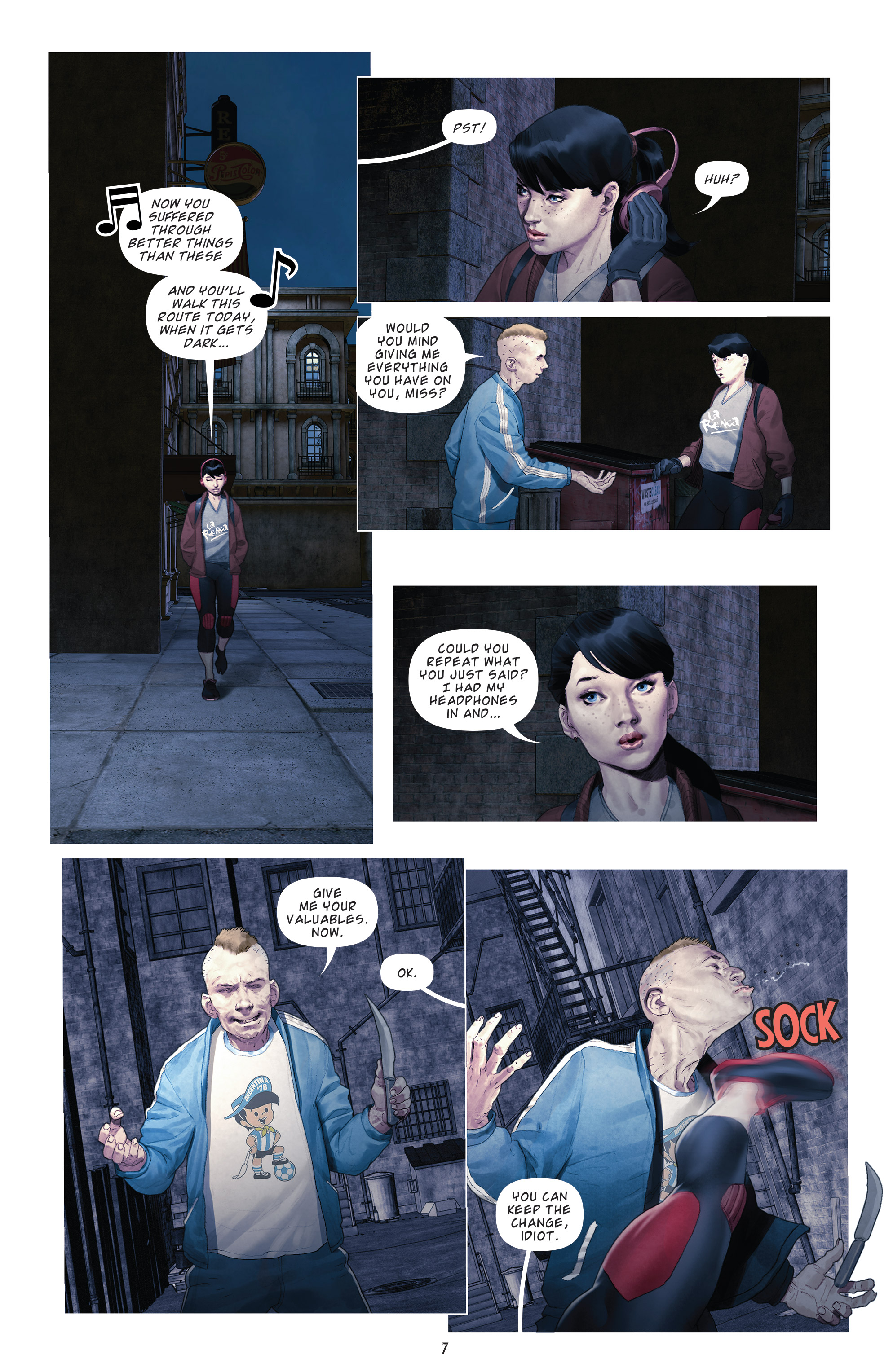 Read online Brutal Nature: Concrete Fury comic -  Issue #4 - 9