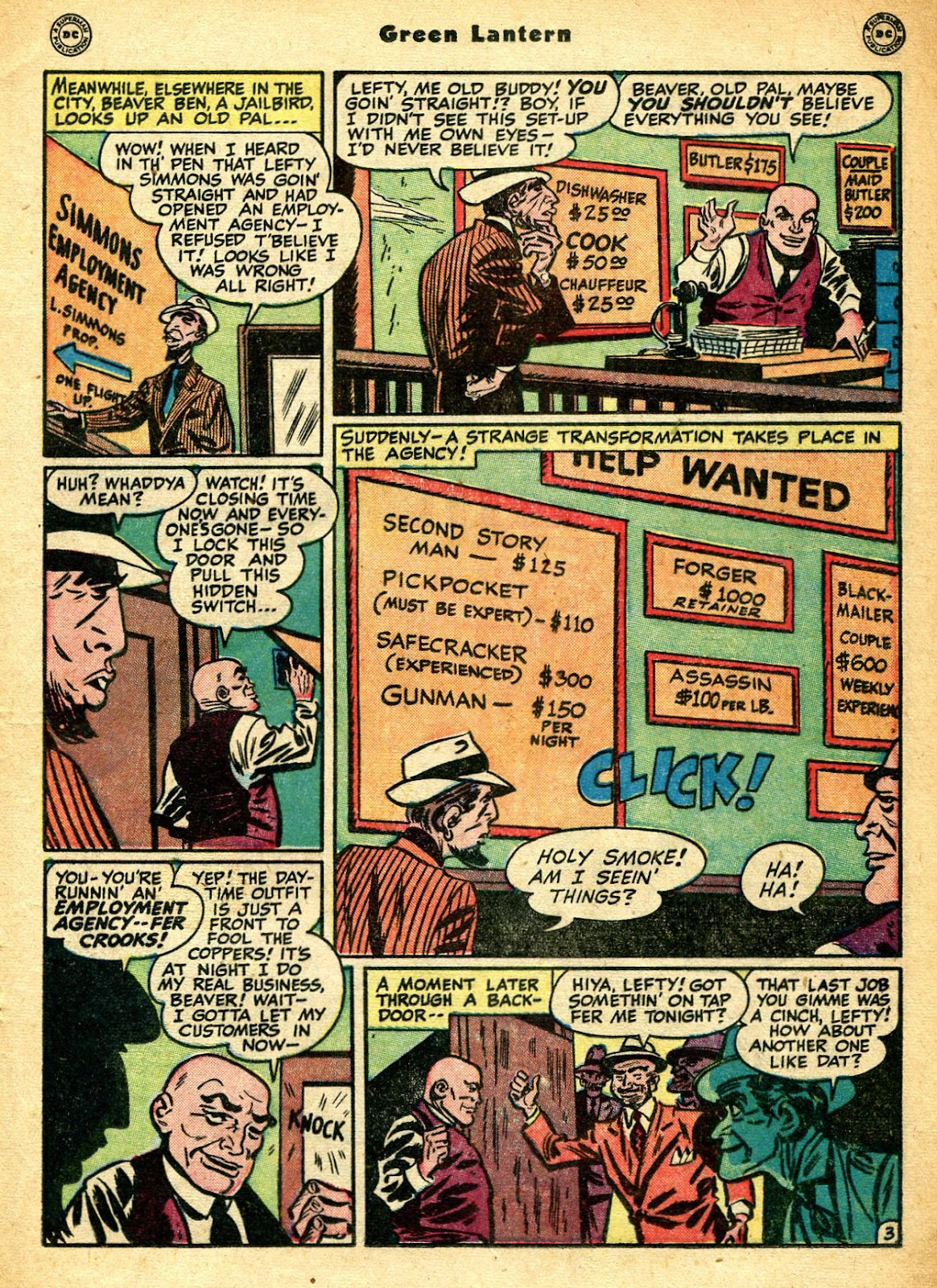 Green Lantern (1941) Issue #33 #33 - English 20