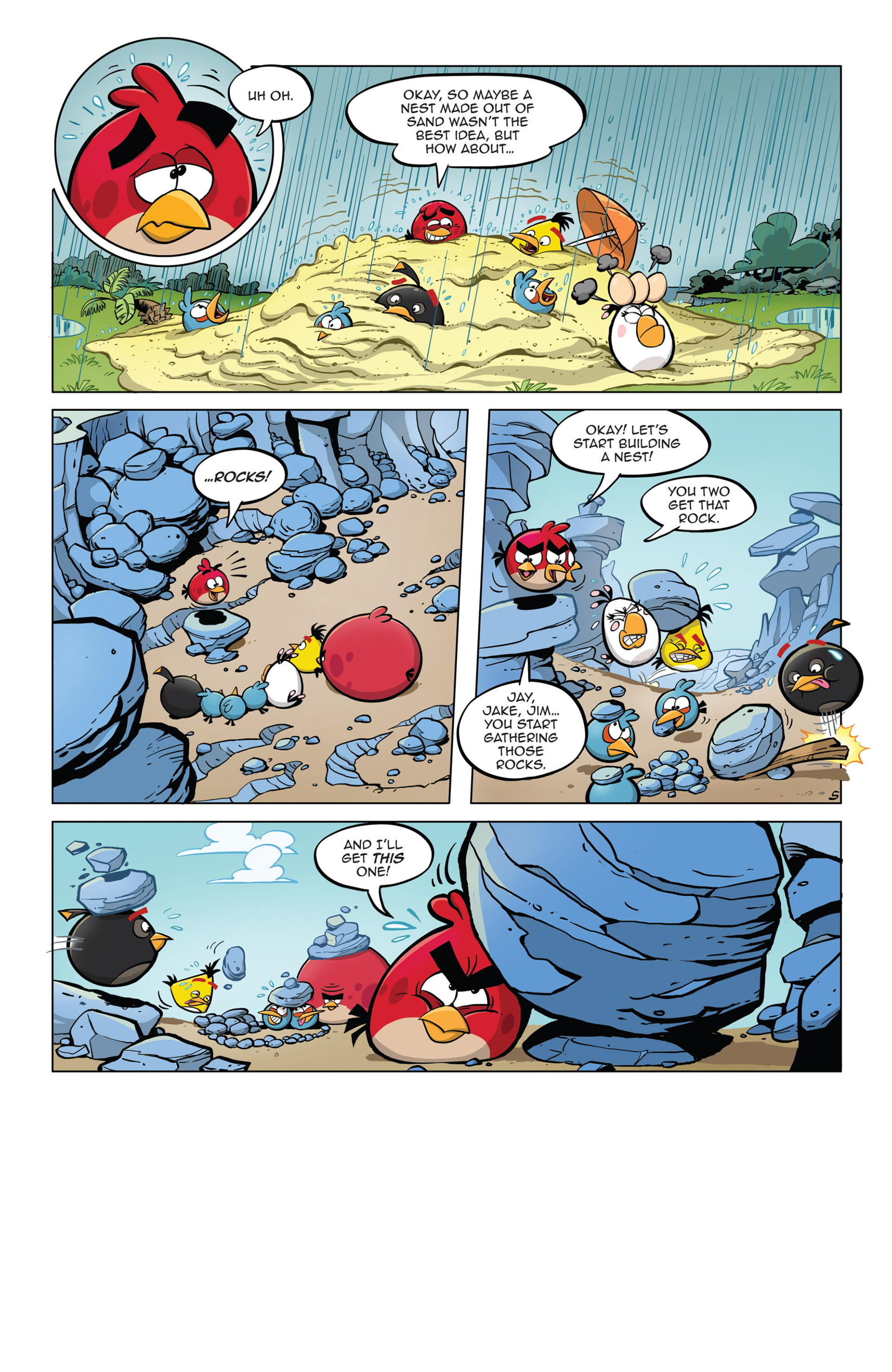 Read online Angry Birds Comics (2014) comic -  Issue #5 - 17