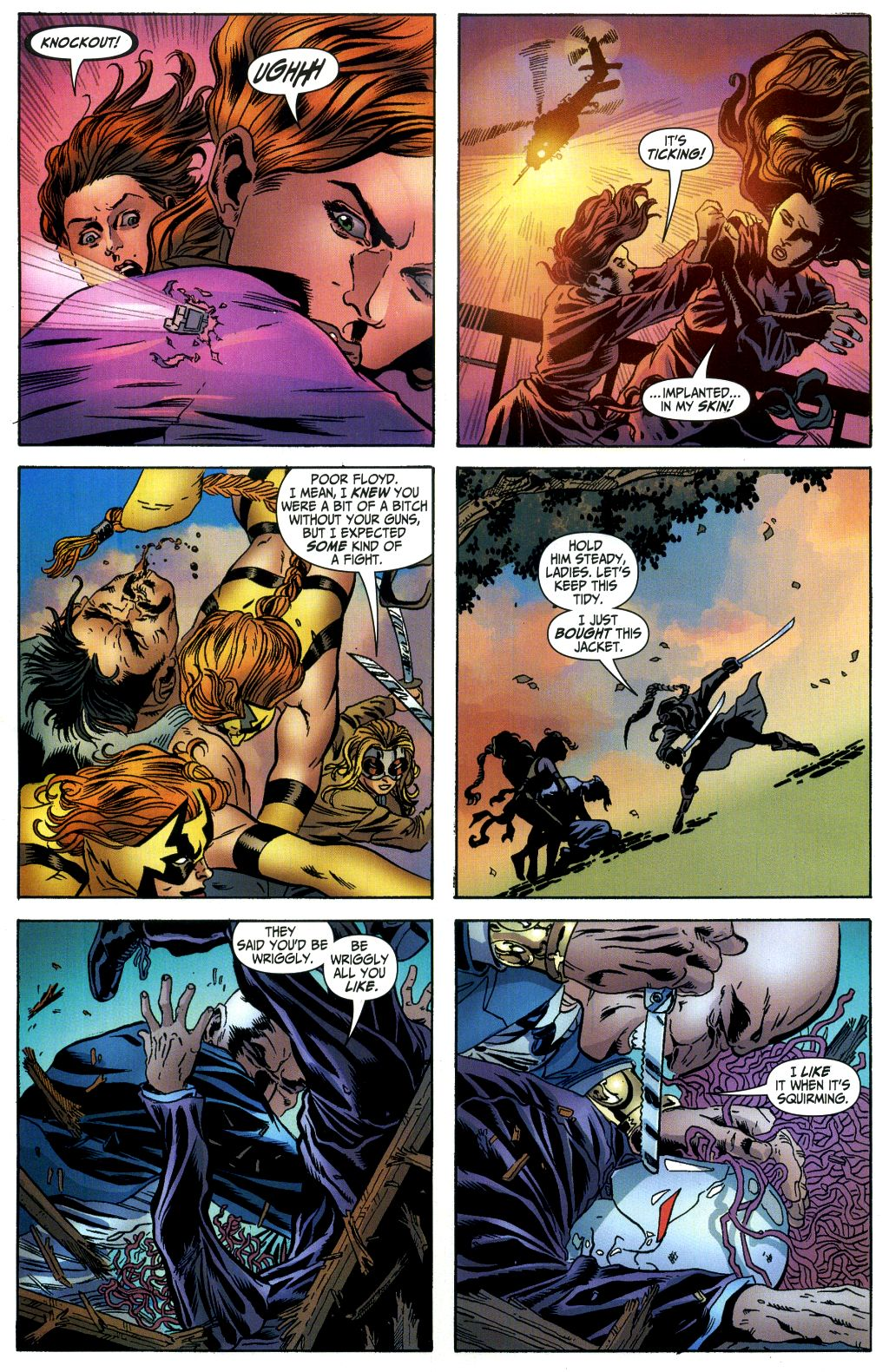 Read online Secret Six (2006) comic -  Issue #1 - 21