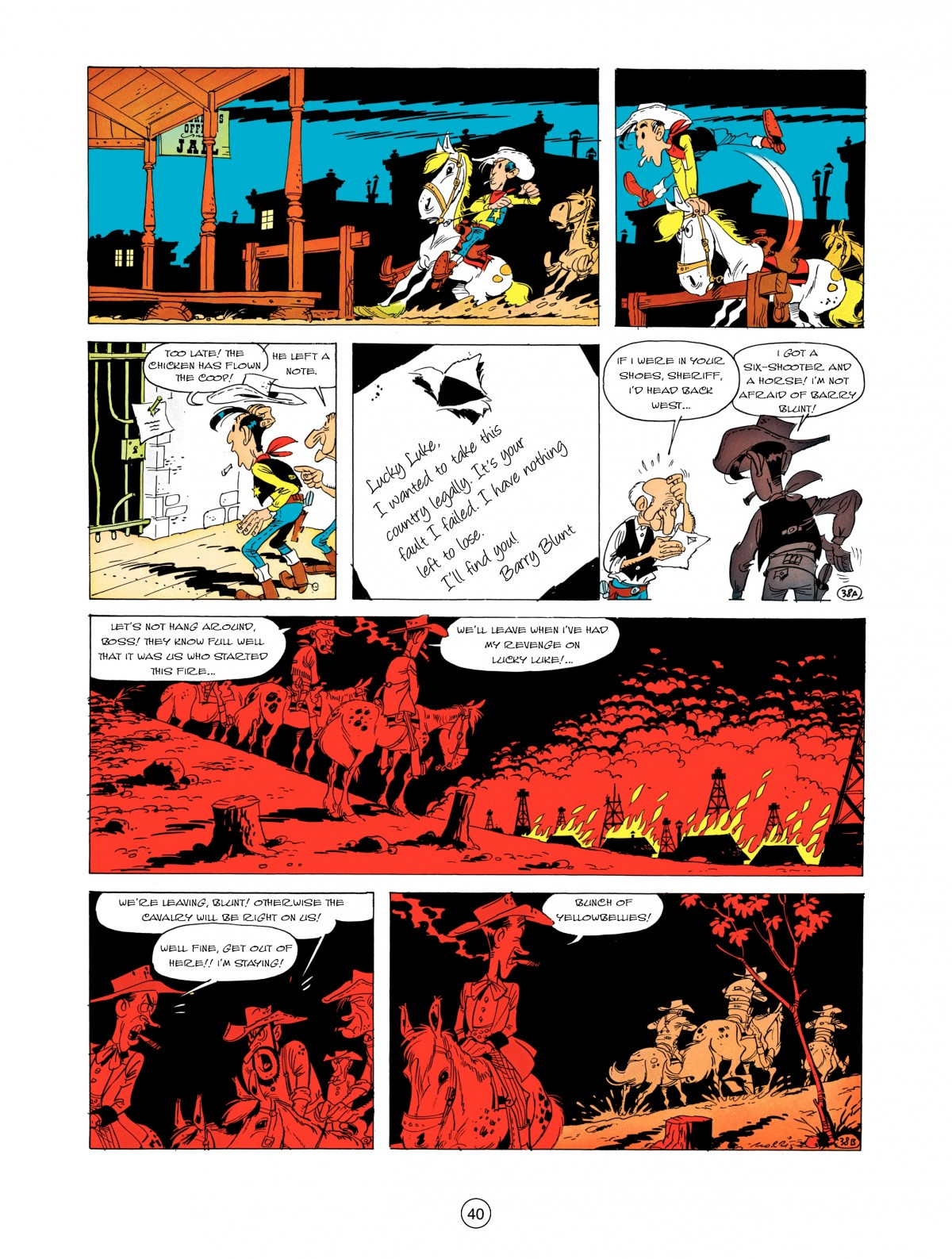 A Lucky Luke Adventure 5 Page 41
