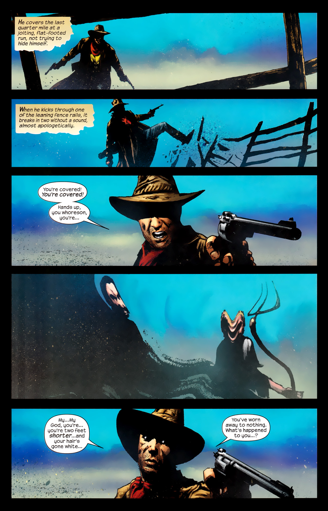 Read online Dark Tower: The Gunslinger - The Way Station comic -  Issue #1 - 22