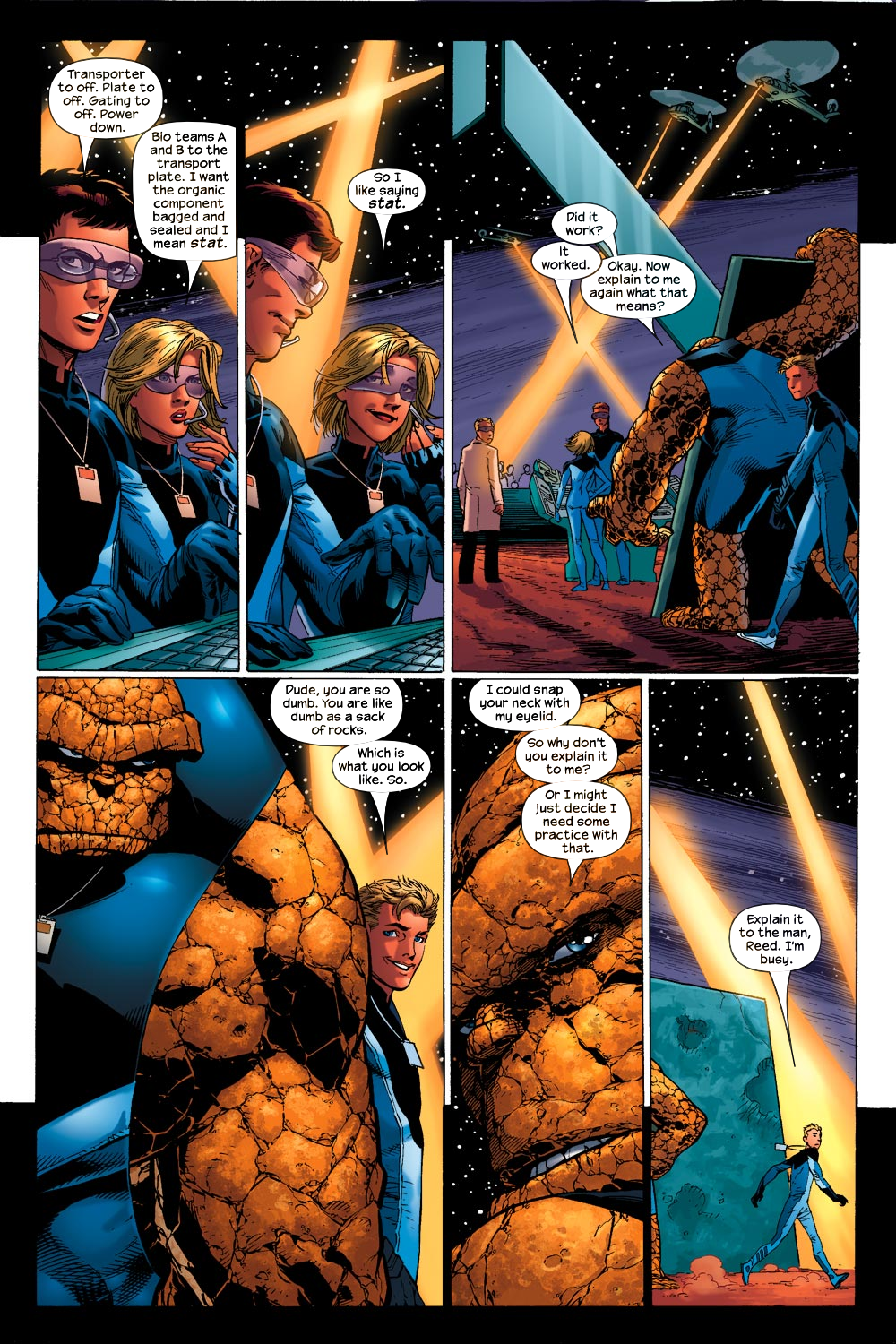 Read online Ultimate Fantastic Four (2004) comic -  Issue #13 - 7