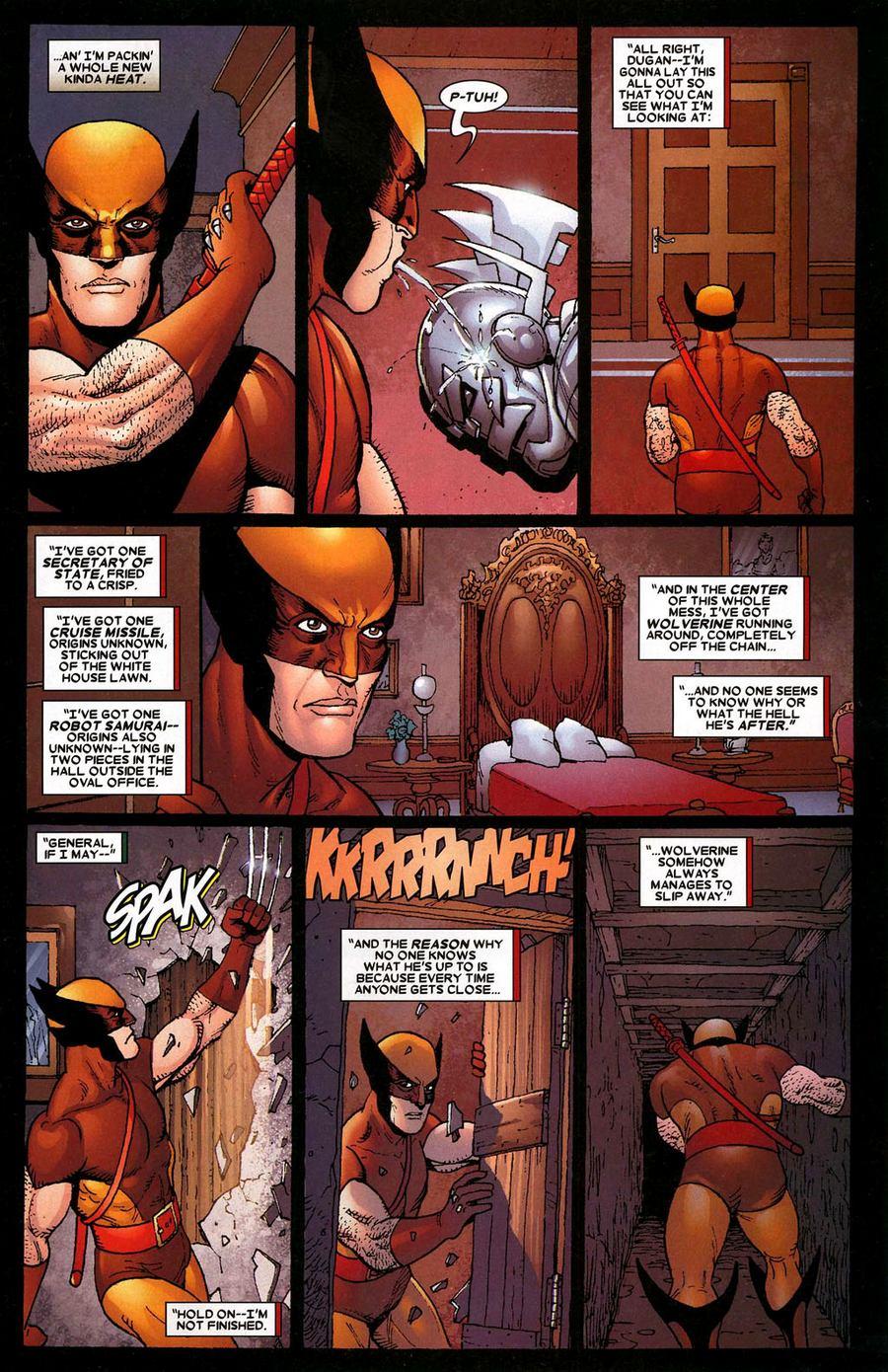 Read online Wolverine: Origins comic -  Issue #1 - 21