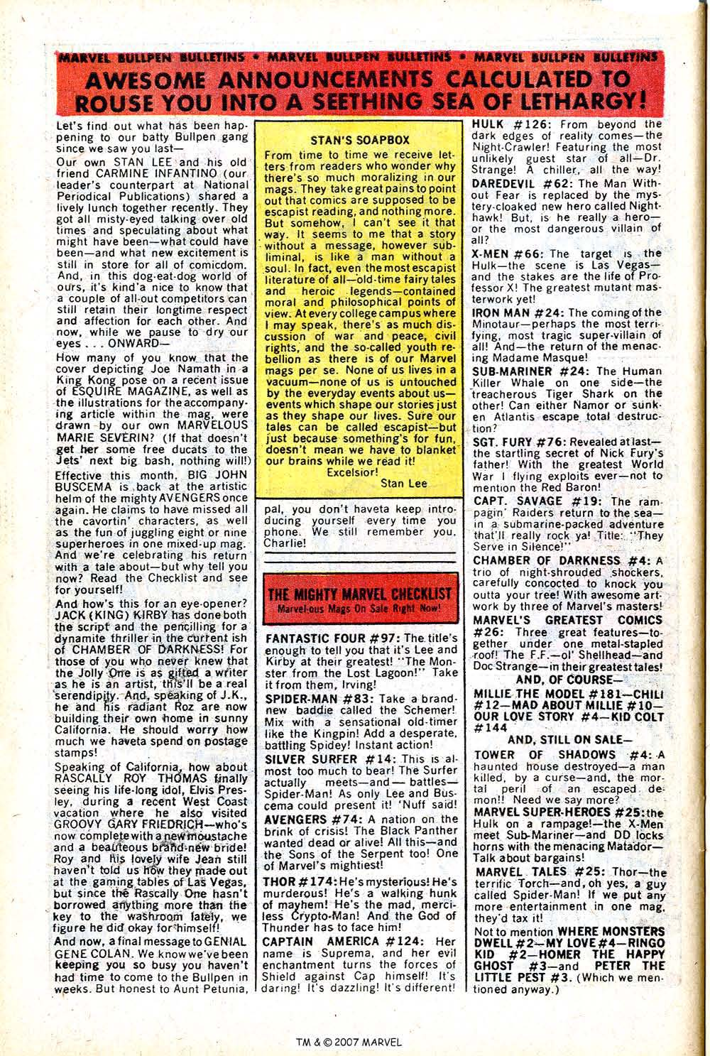 Read online Silver Surfer (1968) comic -  Issue #14 - 30