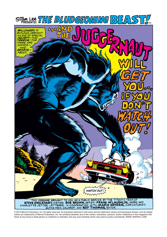 Read online Amazing Adventures (1970) comic -  Issue #16 - 2