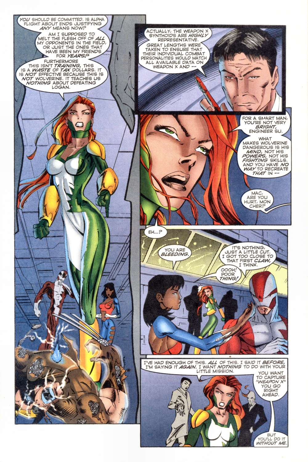 Read online Alpha Flight (1997) comic -  Issue #8 - 8