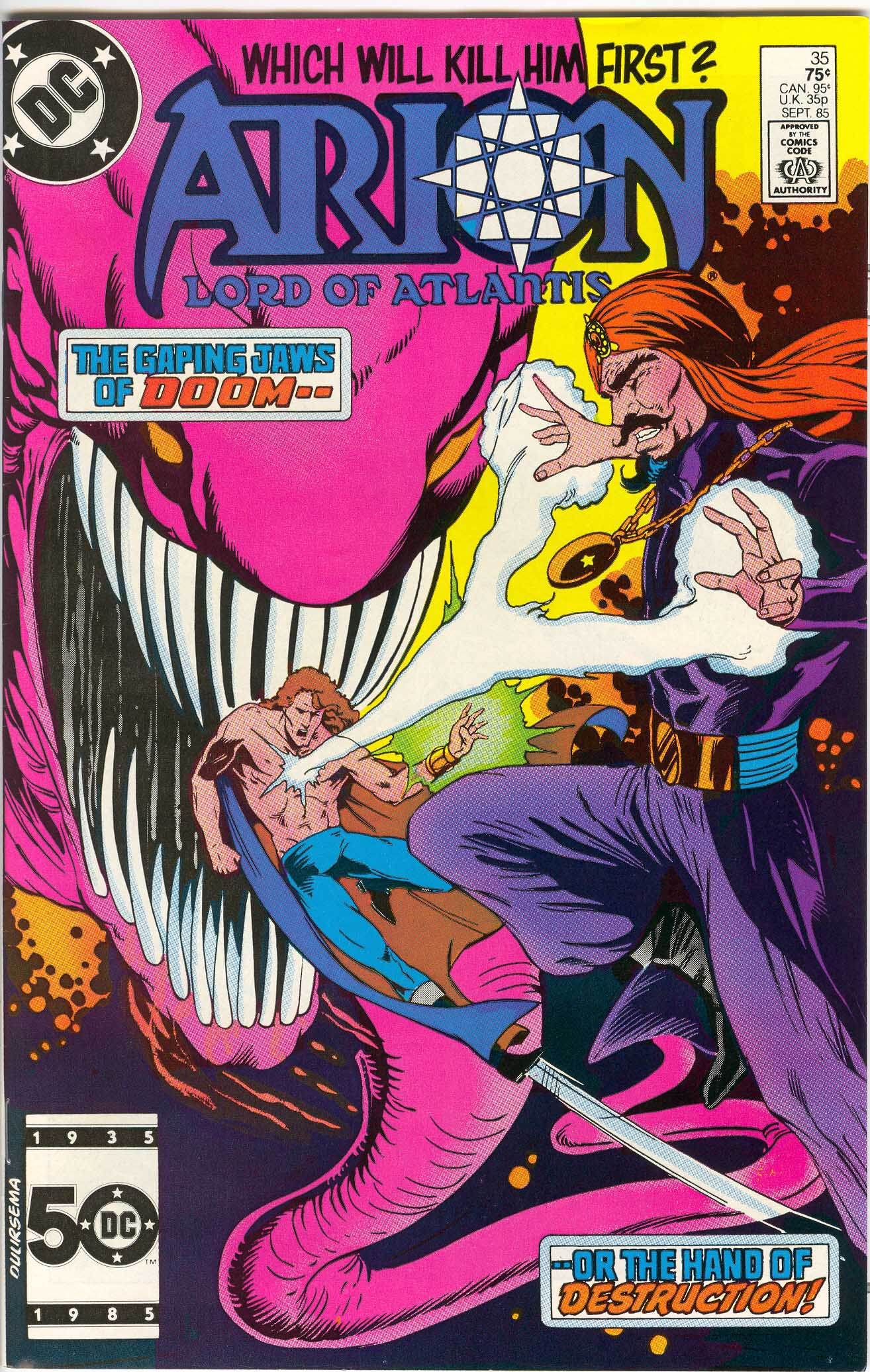 Read online Arion, Lord of Atlantis comic -  Issue #35 - 1