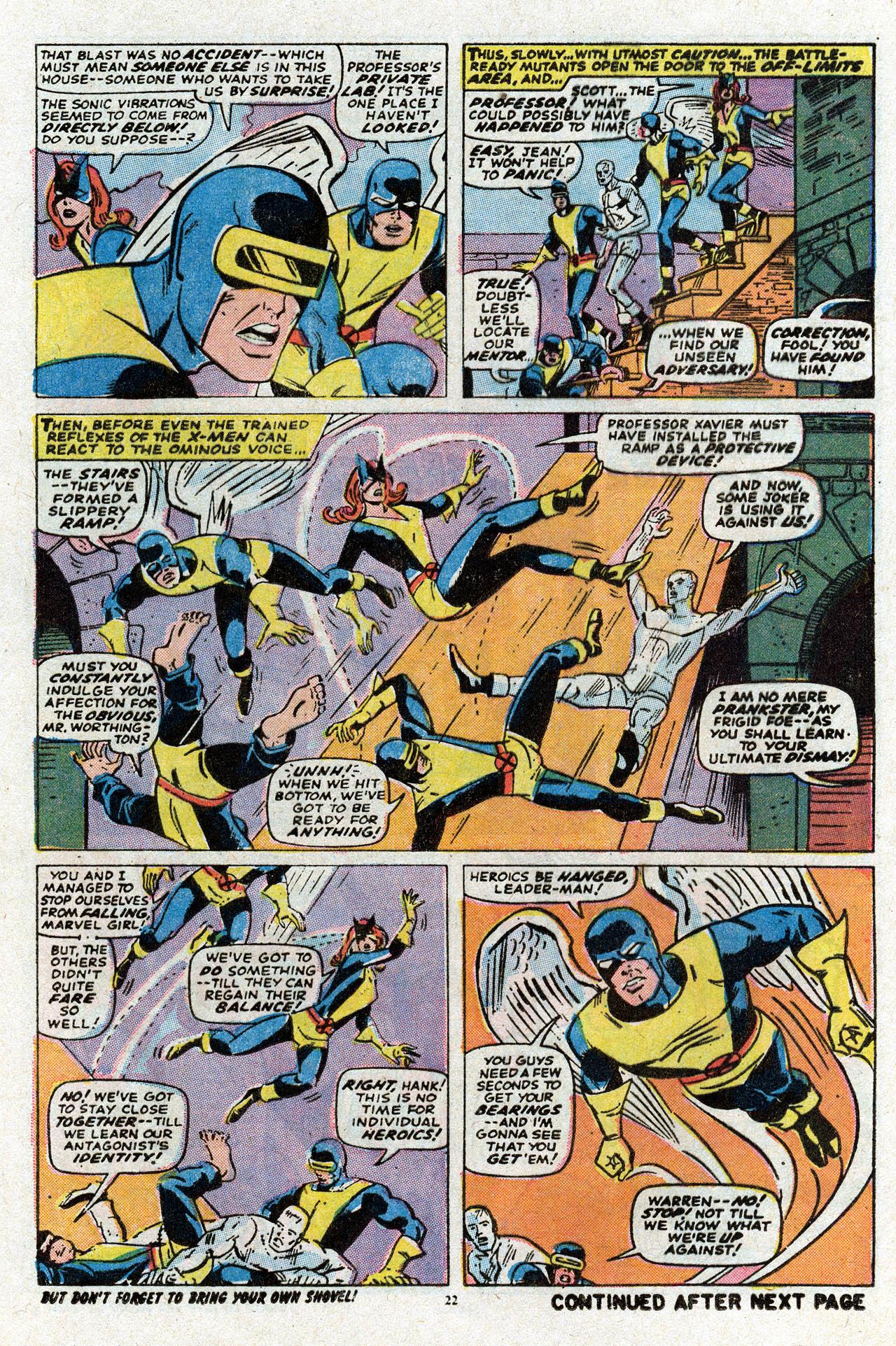 Uncanny X-Men (1963) 80 Page 23