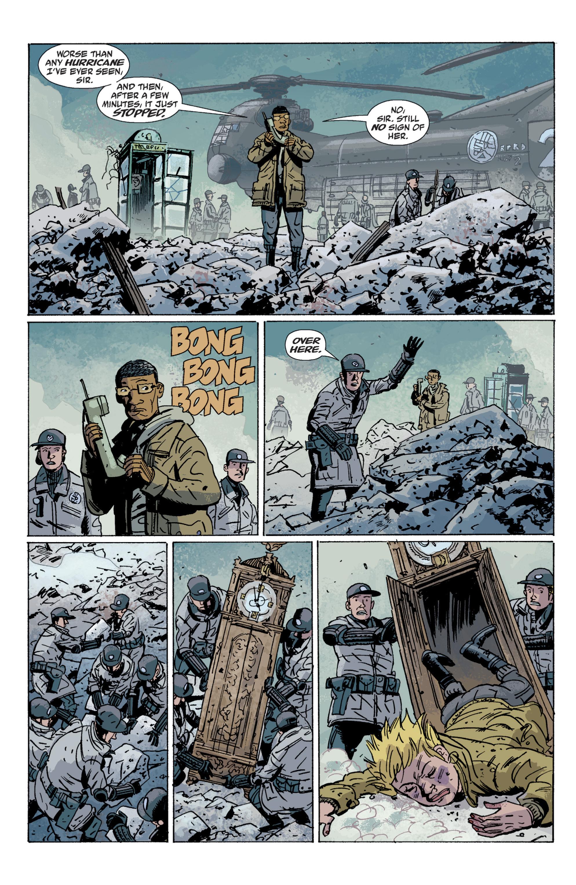 Read online B.P.R.D. (2003) comic -  Issue # TPB 6 - 129