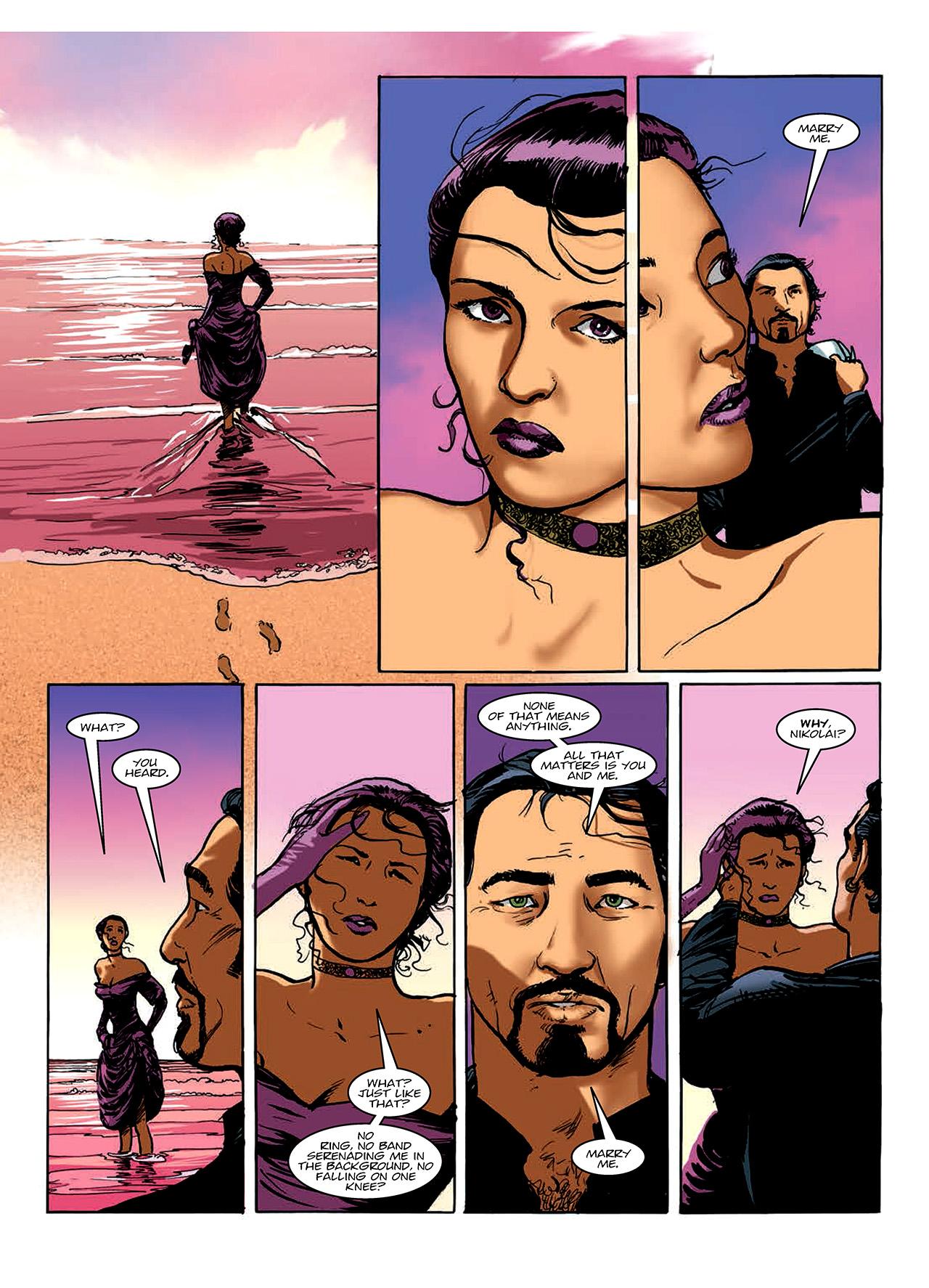Read online Nikolai Dante comic -  Issue # TPB 10 - 85