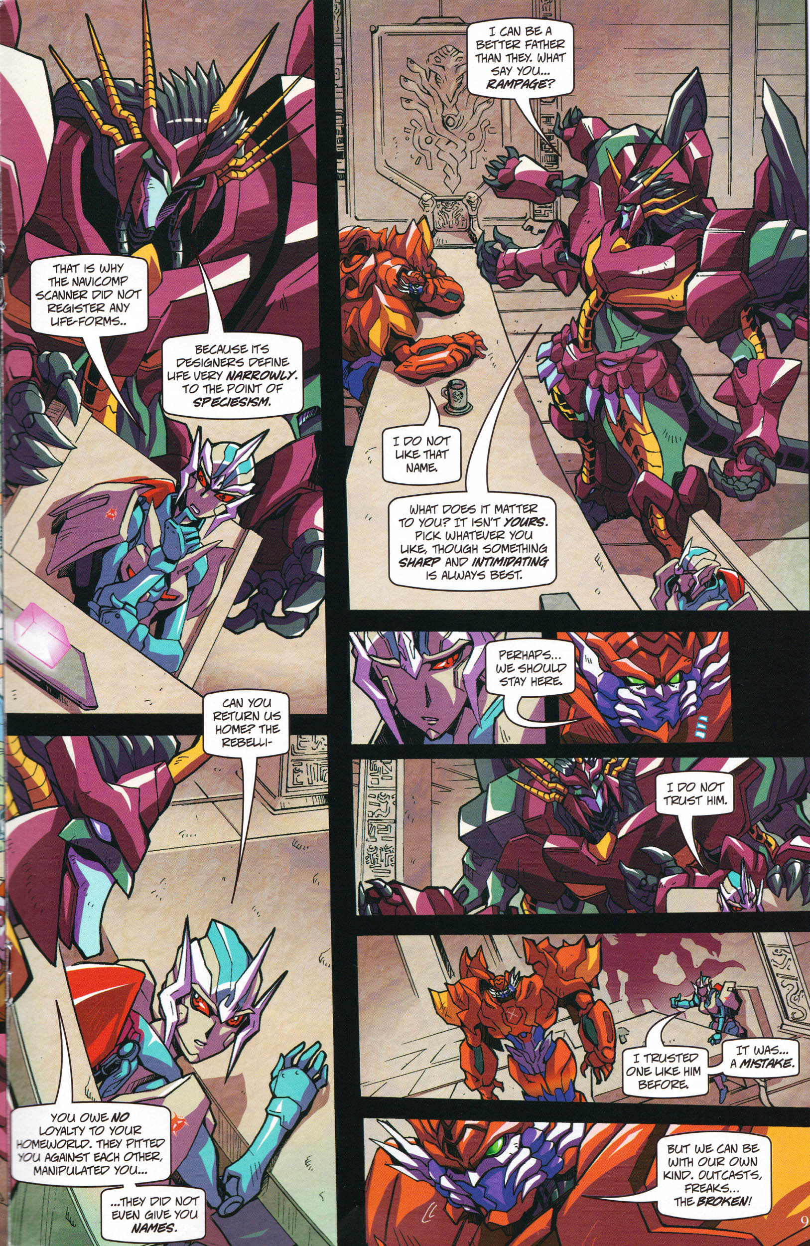 Read online Transformers: Collectors' Club comic -  Issue #59 - 9