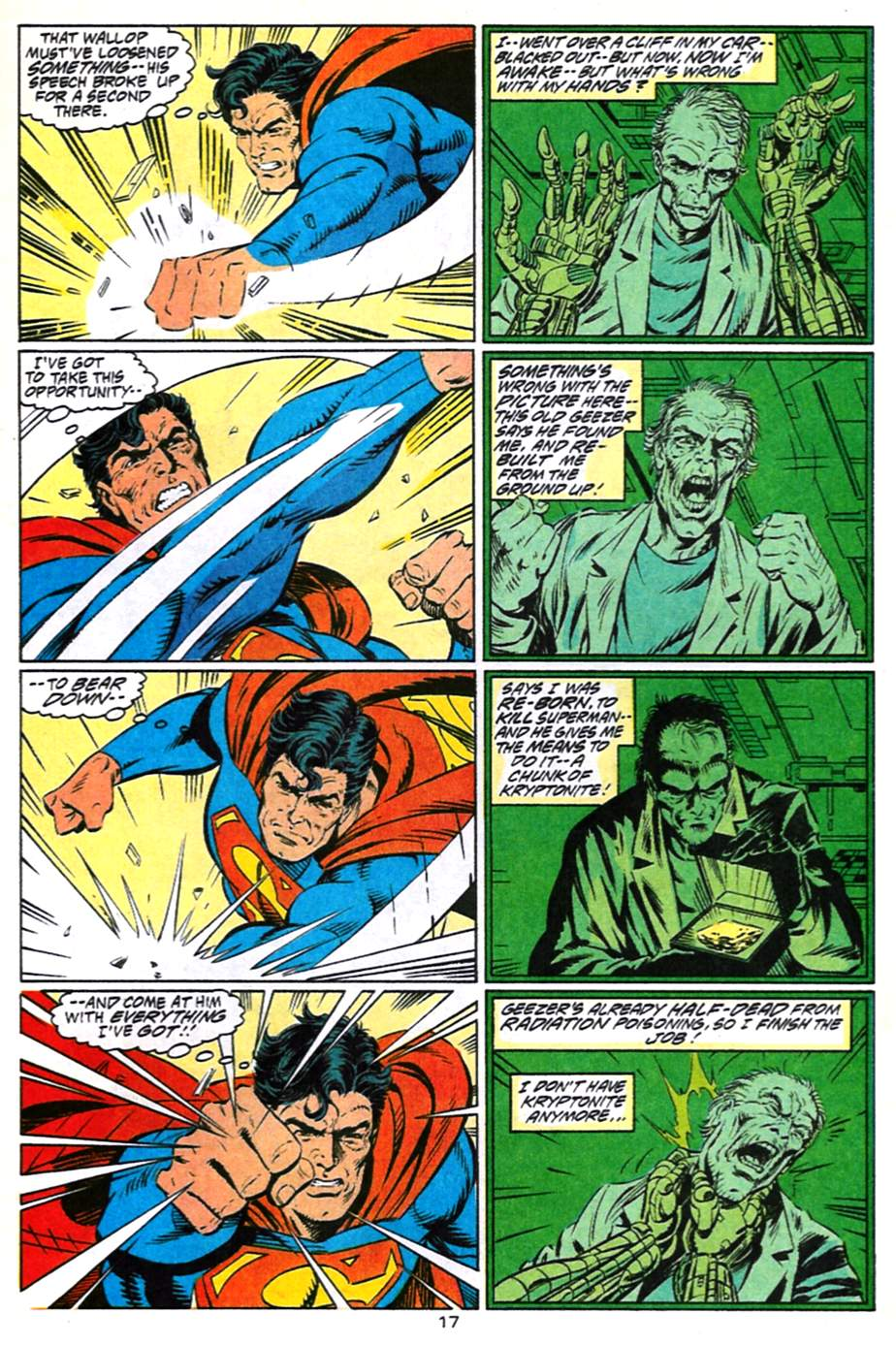 Read online Adventures of Superman (1987) comic -  Issue #491 - 18