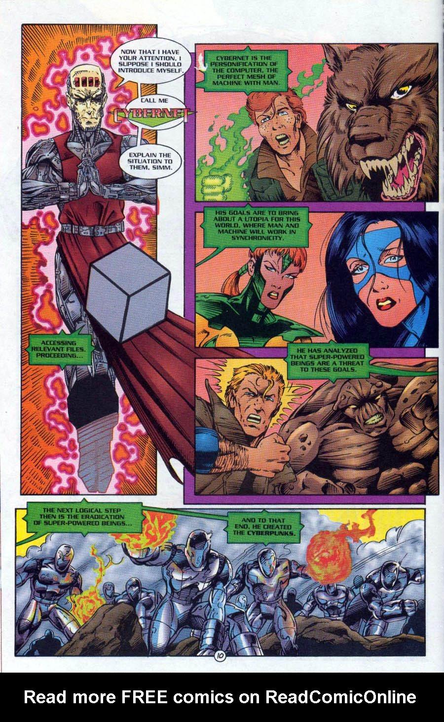 Read online Ex-Mutants comic -  Issue #18 - 11