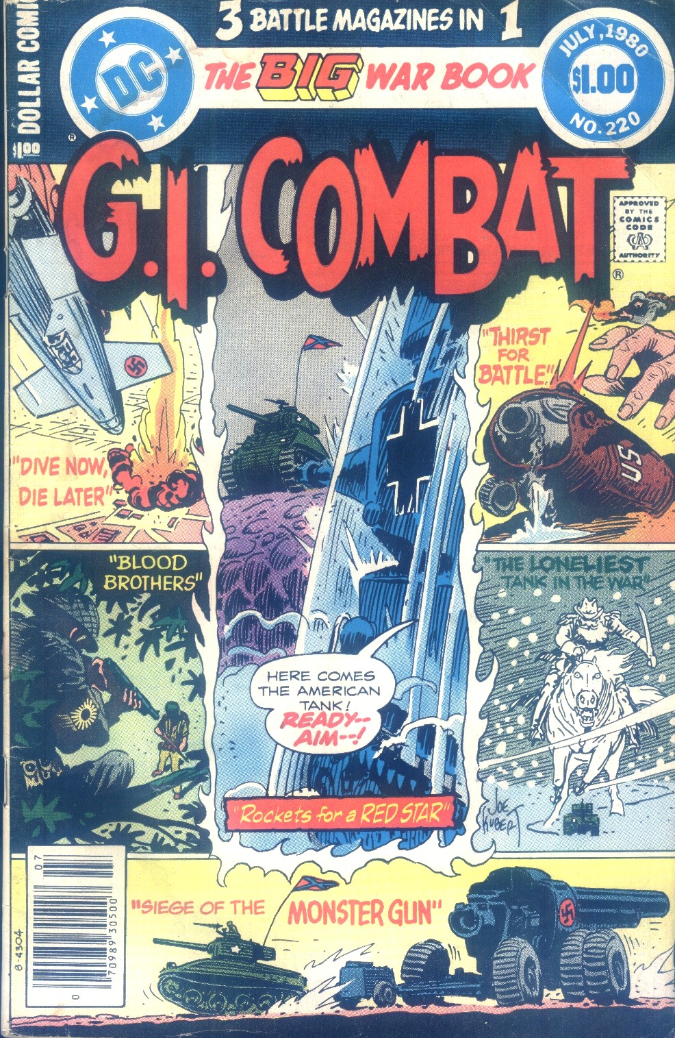 G.I. Combat (1952) issue 220 - Page 1