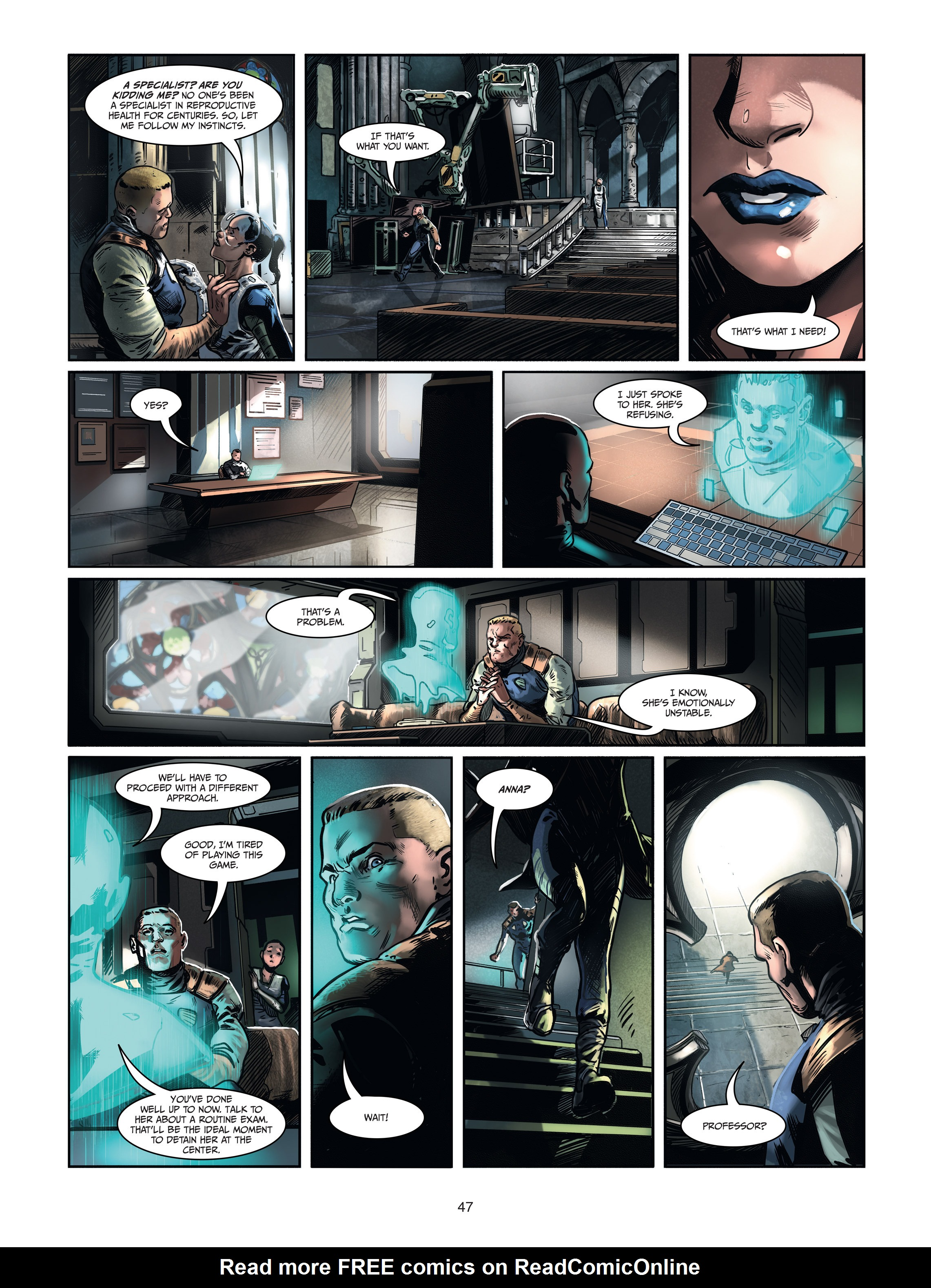 Read online Androïds comic -  Issue #1 - 45