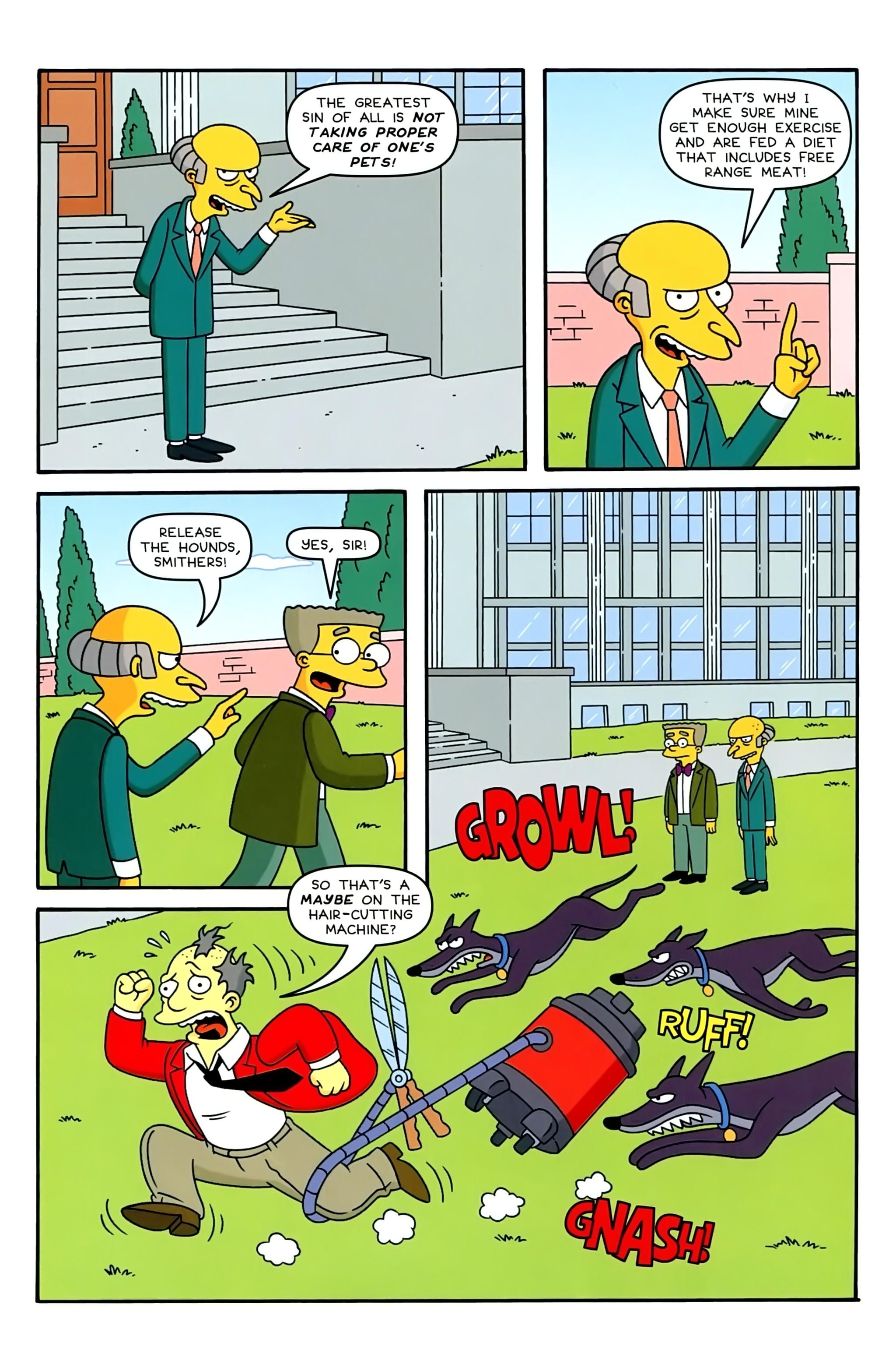 Read online Simpsons Comics comic -  Issue #234 - 24