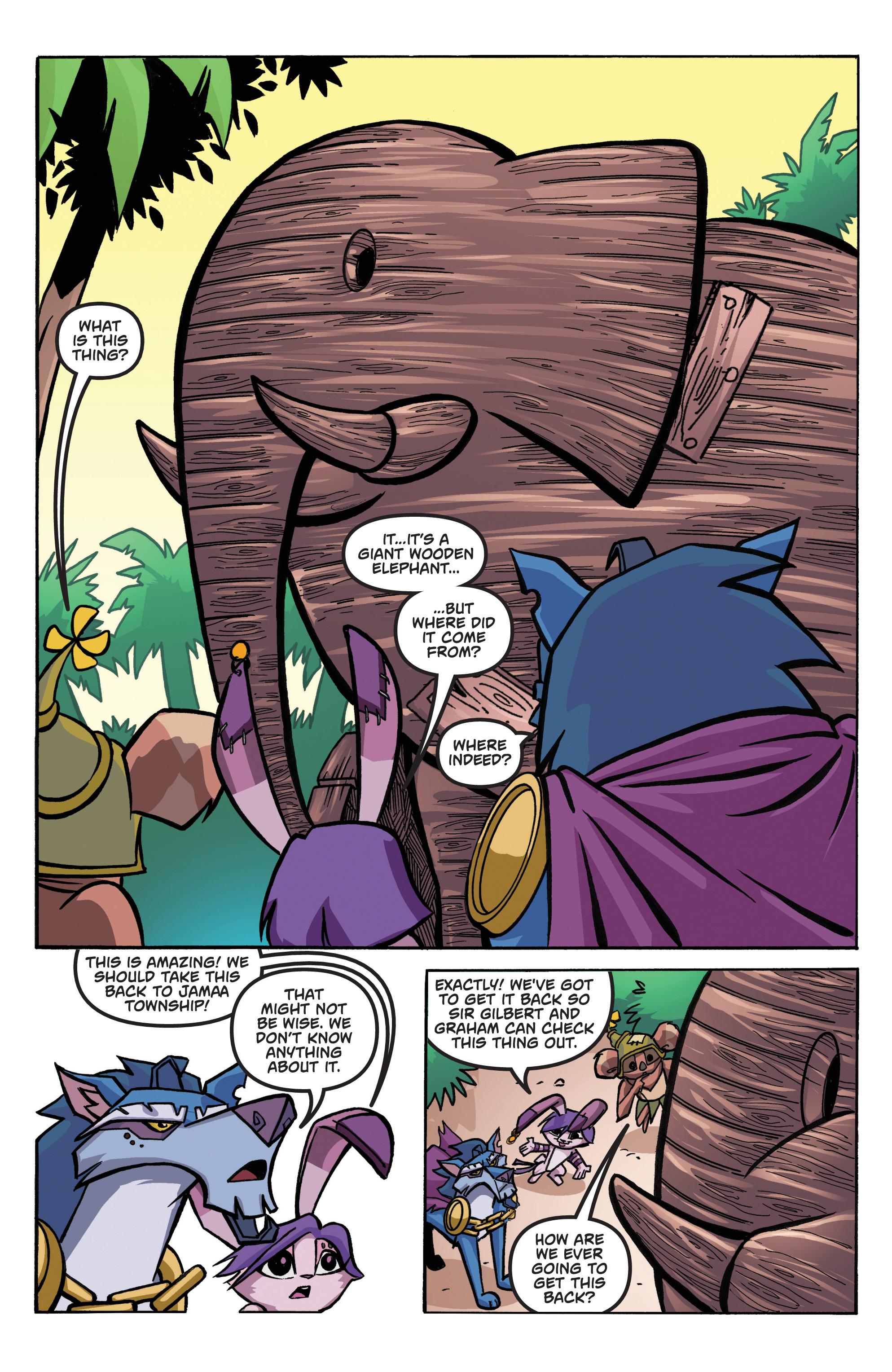 Read online Animal Jam comic -  Issue #1 - 8