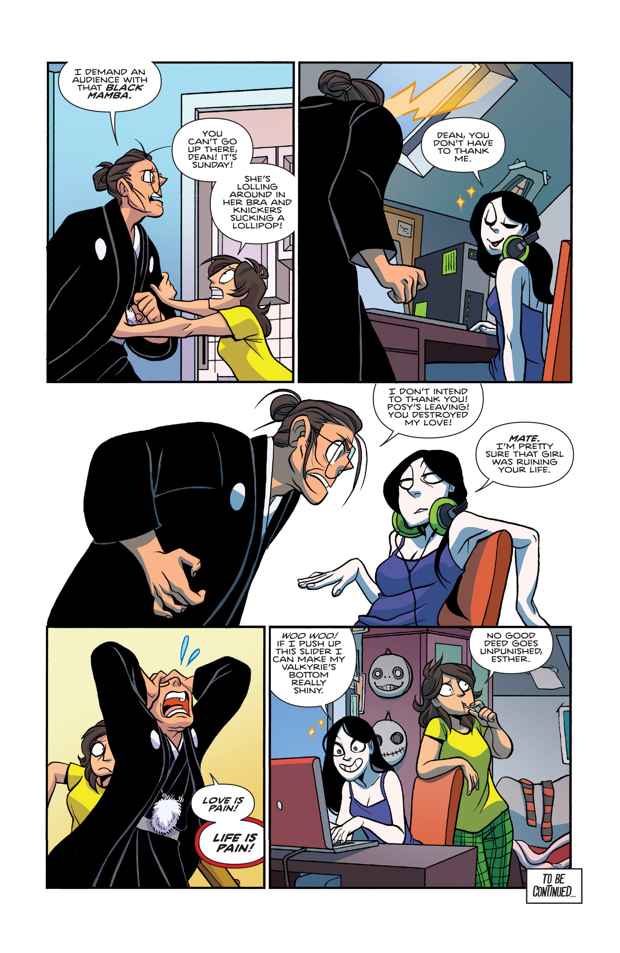 Read online Giant Days (2015) comic -  Issue #26 - 24