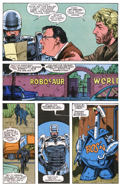 Read online Robocop (1990) comic -  Issue #7 - 7