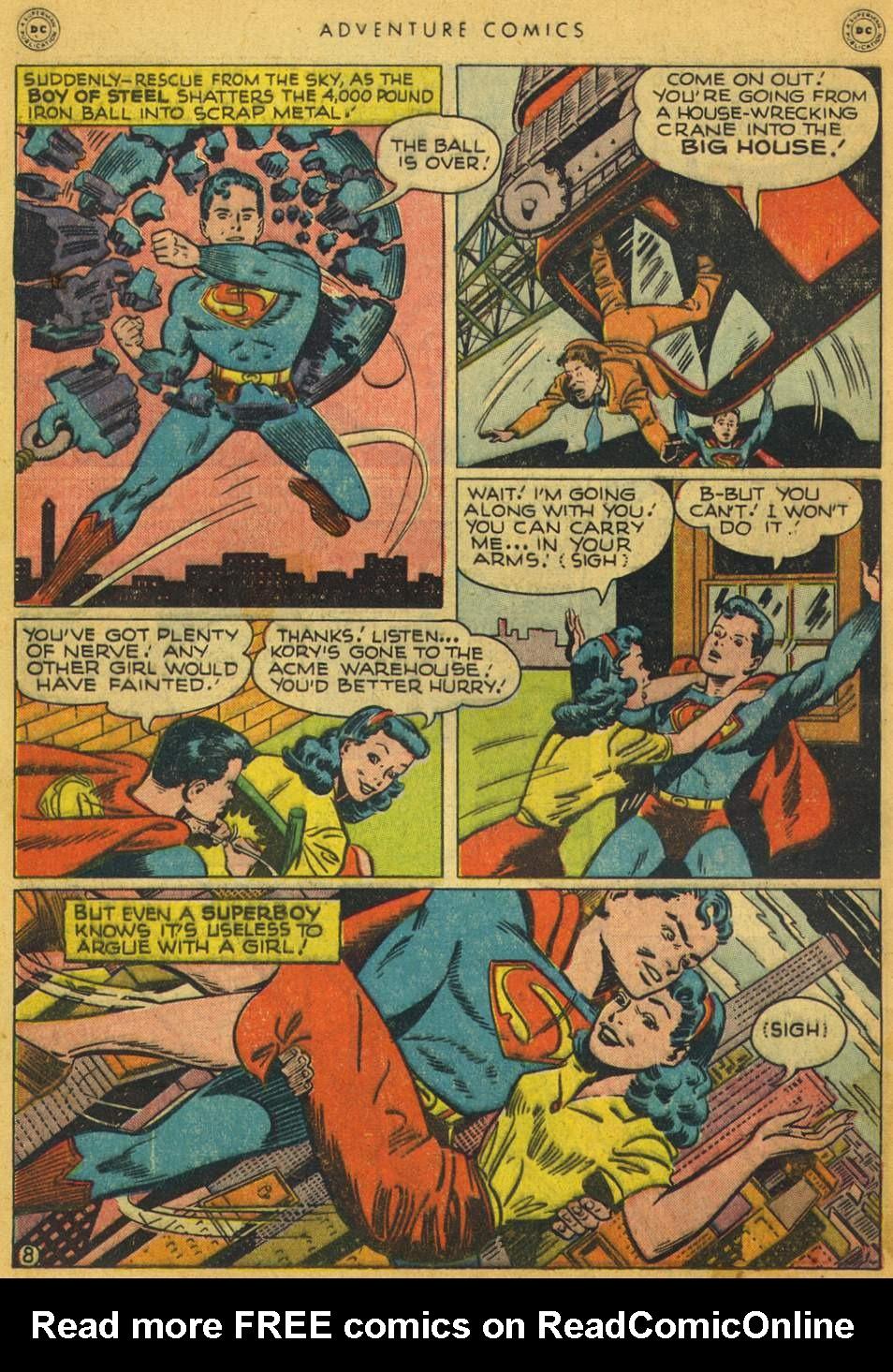 Read online Adventure Comics (1938) comic -  Issue #128 - 9