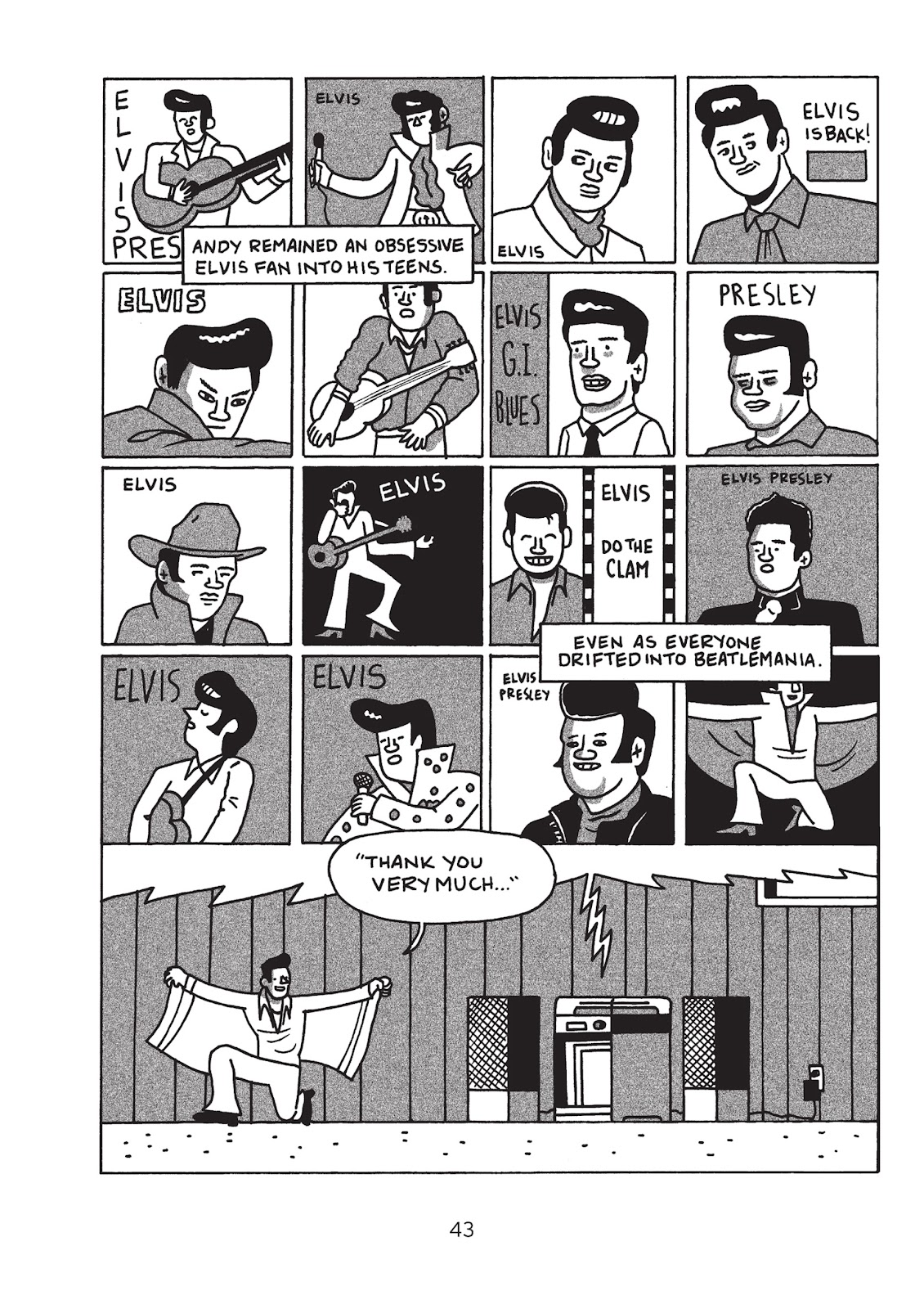 Read online Is This Guy For Real?: The Unbelievable Andy Kaufman comic -  Issue # TPB (Part 1) - 48