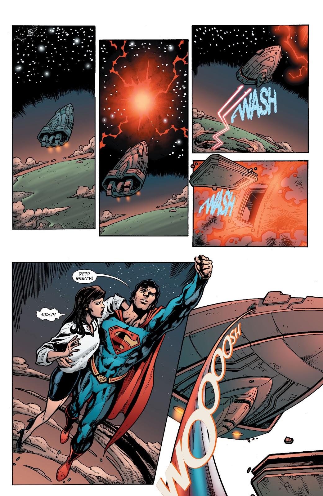 Read online Smallville Season 11 [II] comic -  Issue # TPB 8 - 130