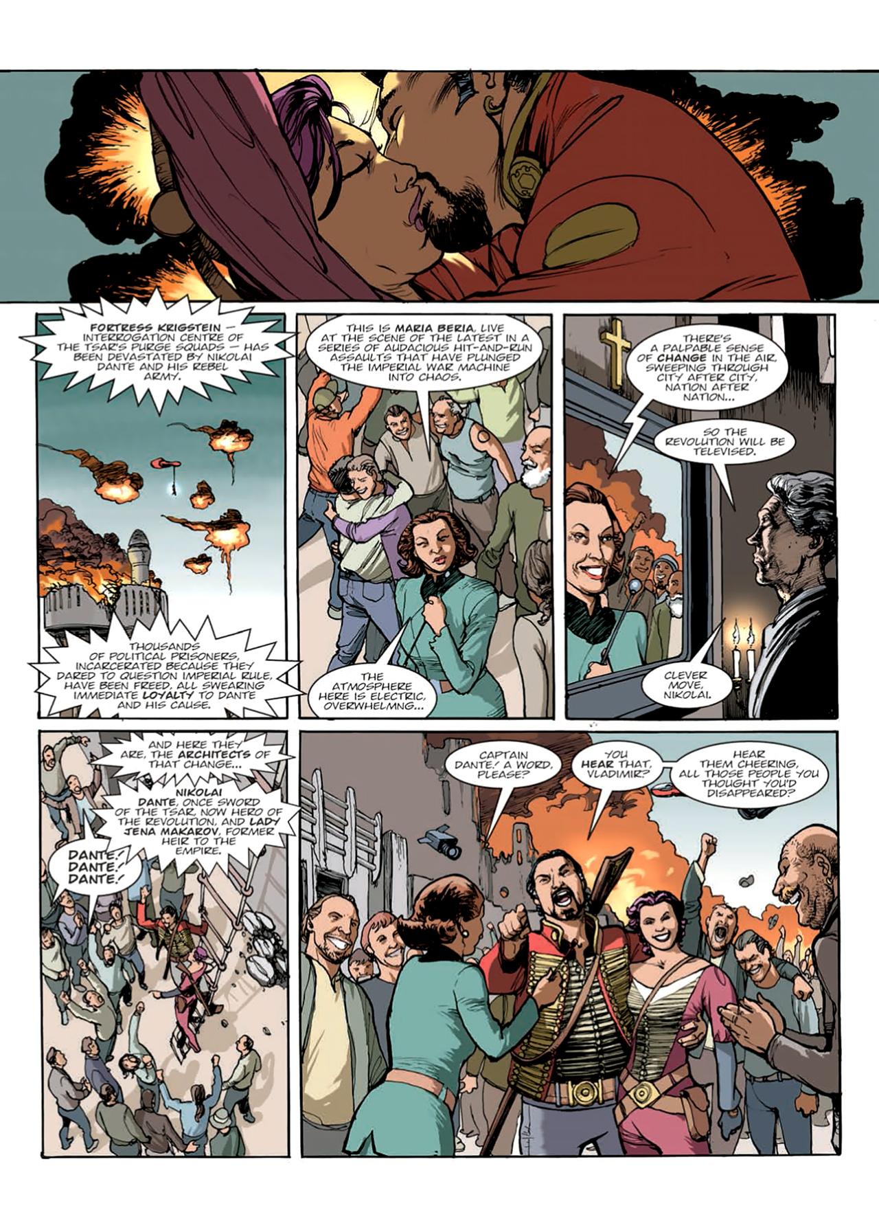 Read online Nikolai Dante comic -  Issue # TPB 9 - 124