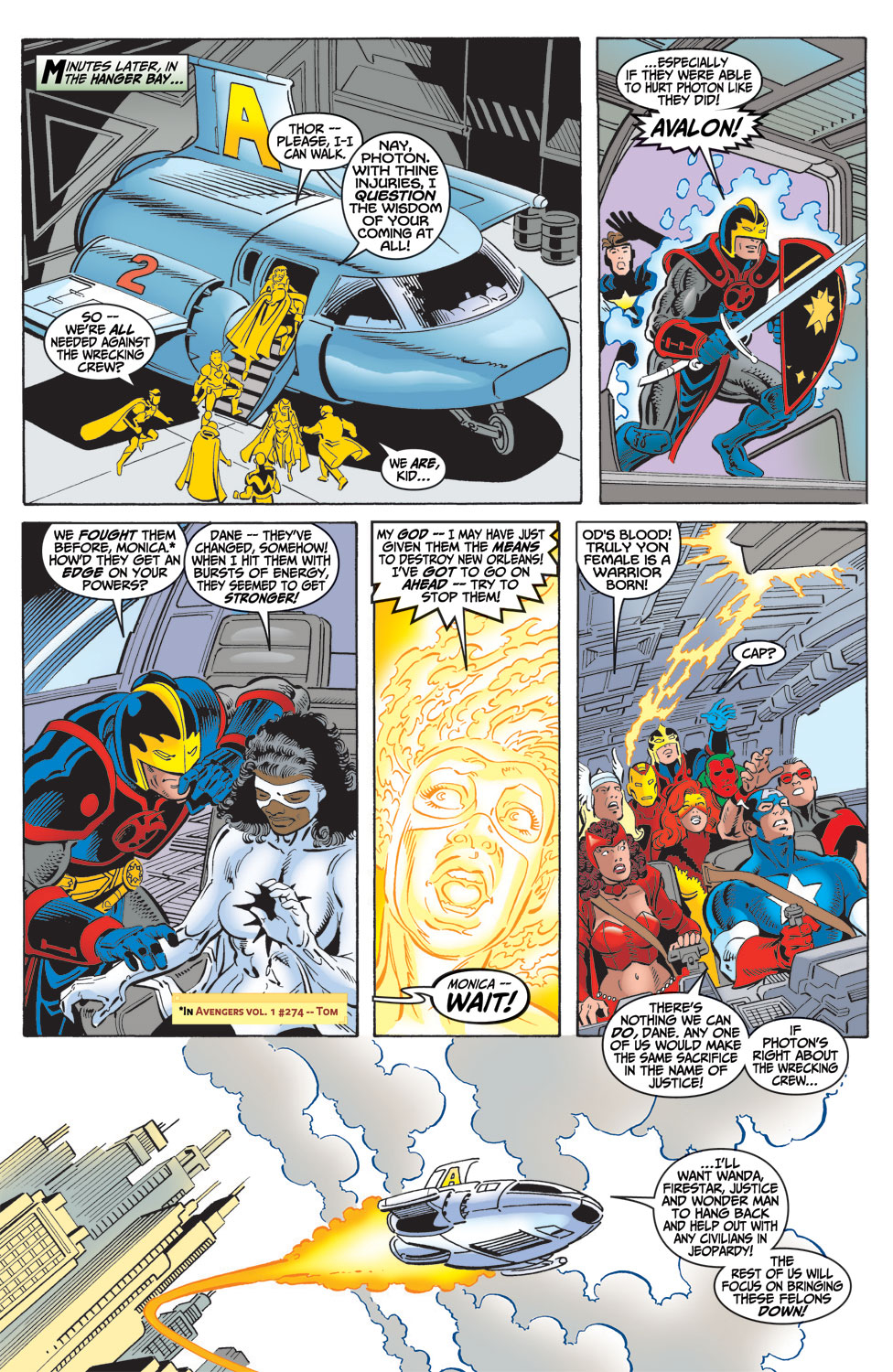 Read online Avengers (1998) comic -  Issue #16 - 10