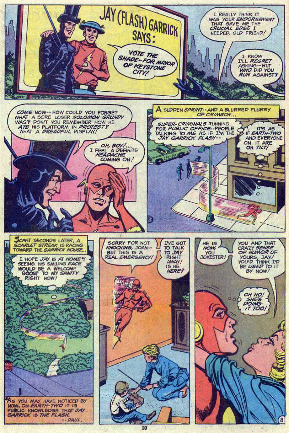 Read online Adventure Comics (1938) comic -  Issue #460 - 10