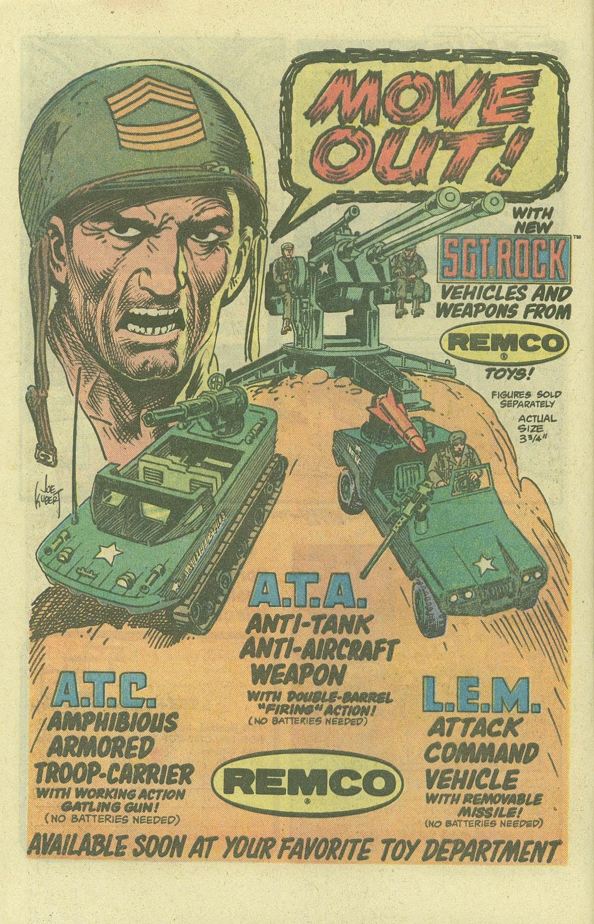 Read online Sgt. Rock comic -  Issue #380 - 7