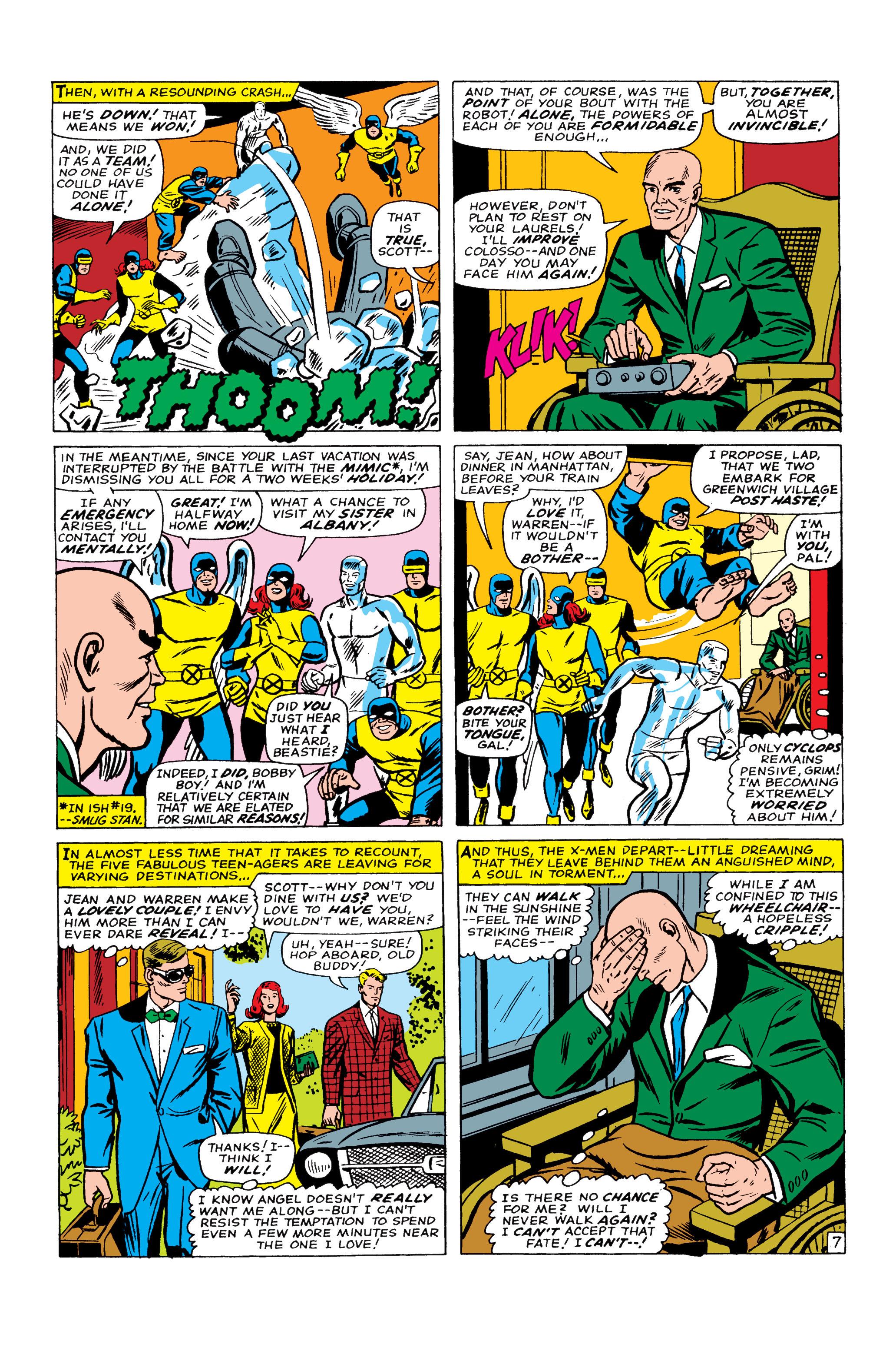 Read online Uncanny X-Men (1963) comic -  Issue #22 - 8
