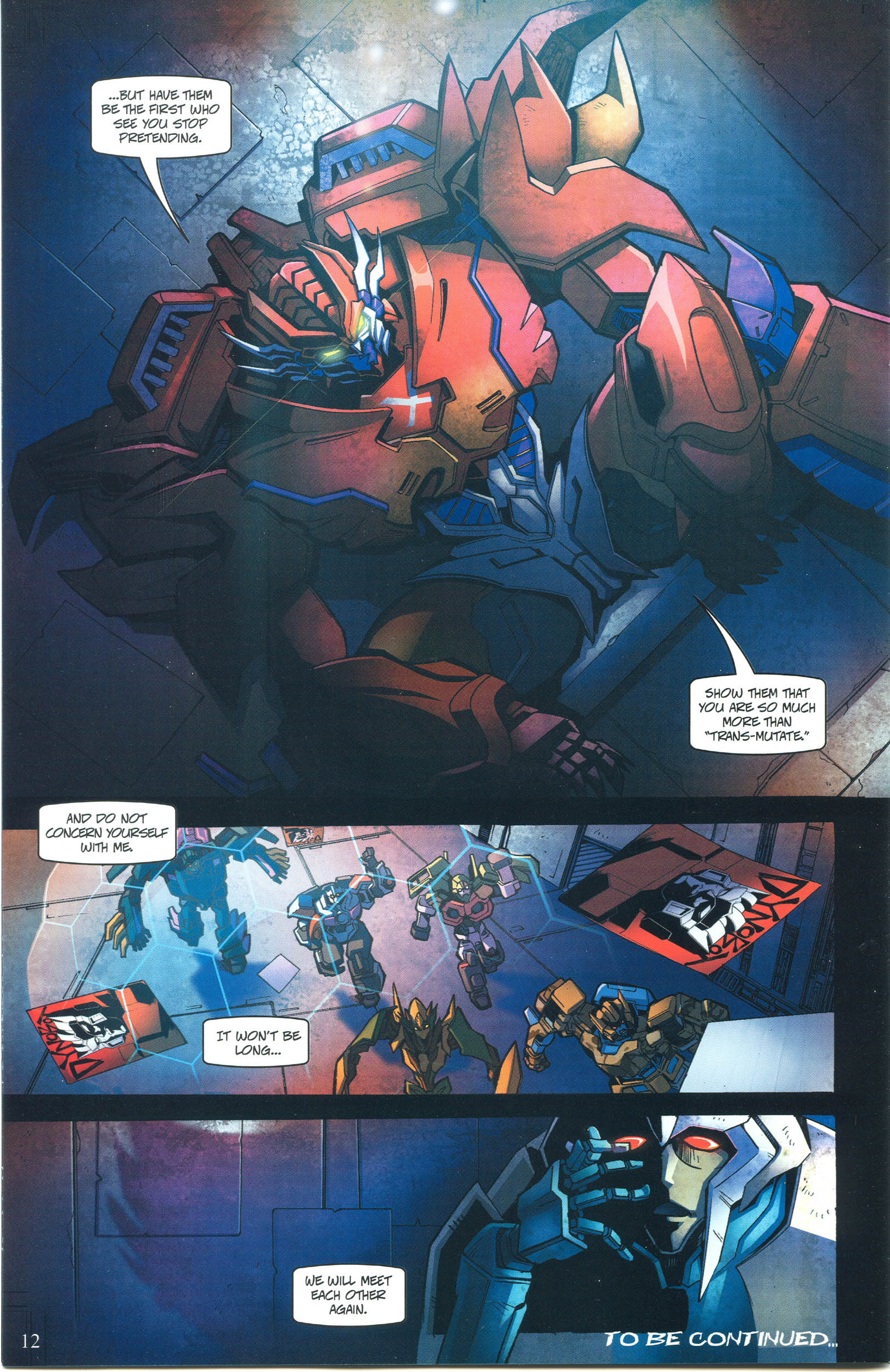 Read online Transformers: Collectors' Club comic -  Issue #55 - 12