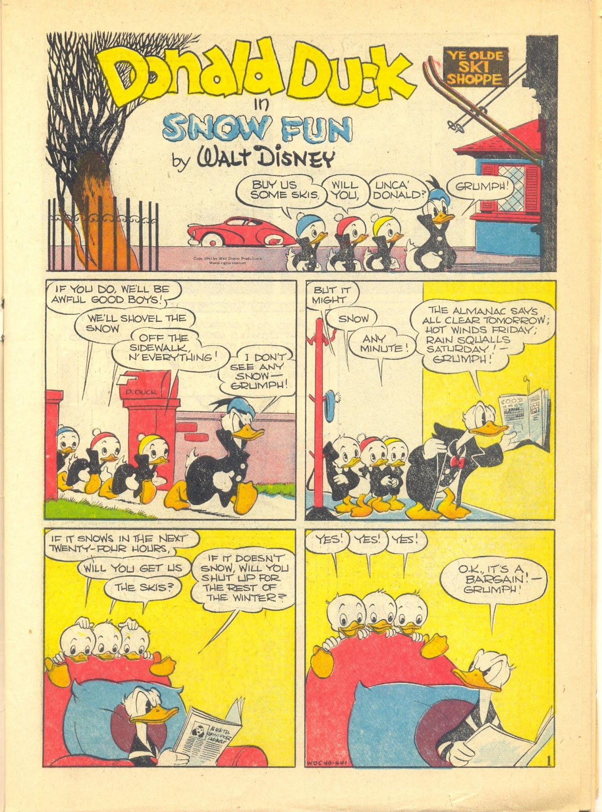 Walt Disney's Comics and Stories issue 40 - Page 3