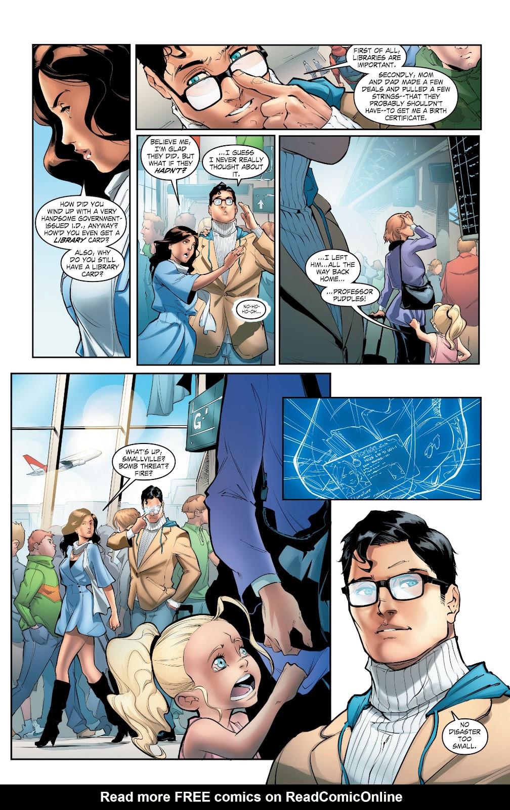 Read online Smallville Season 11 [II] comic -  Issue # TPB 5 - 18