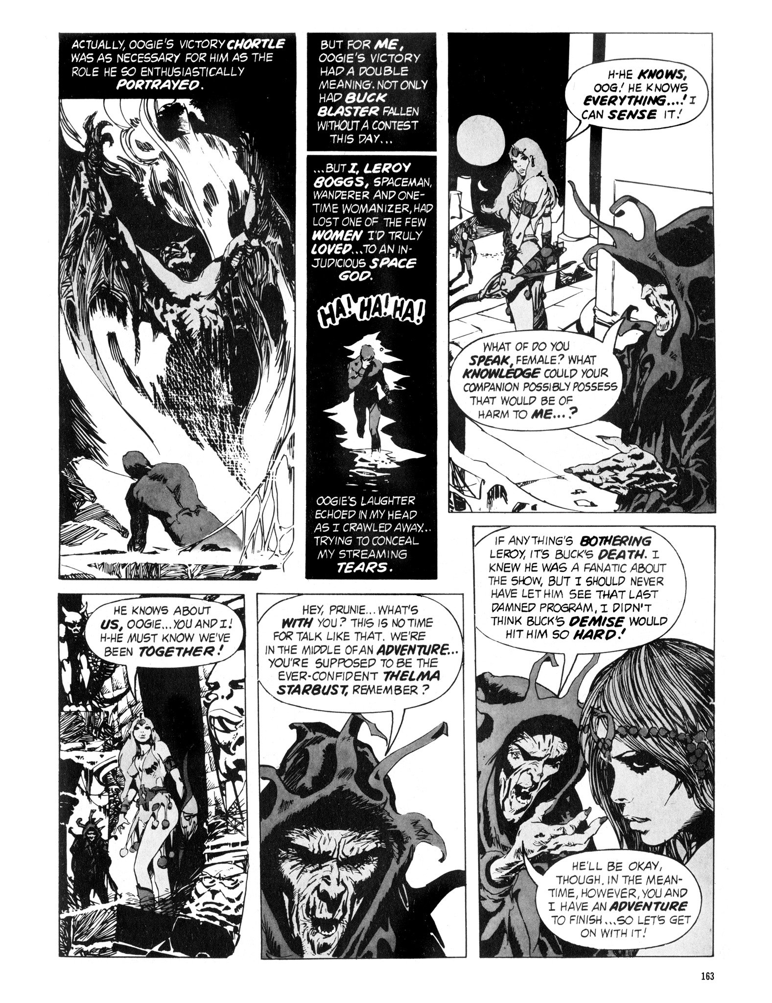 Read online Eerie Archives comic -  Issue # TPB 16 - 164