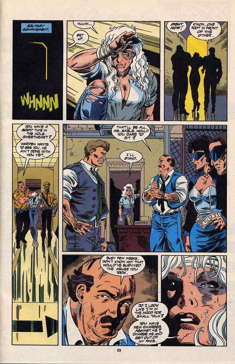 Read online Silver Sable and the Wild Pack comic -  Issue #30 - 19