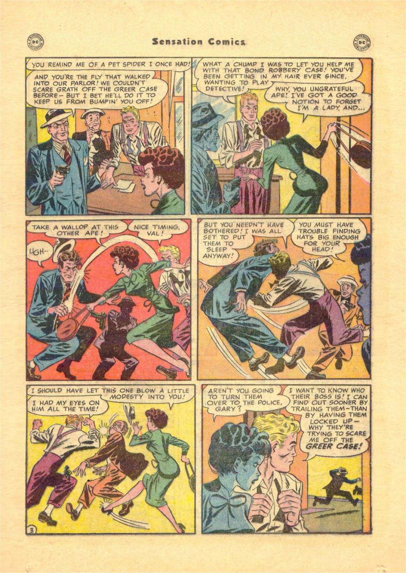 Read online Sensation (Mystery) Comics comic -  Issue #84 - 19