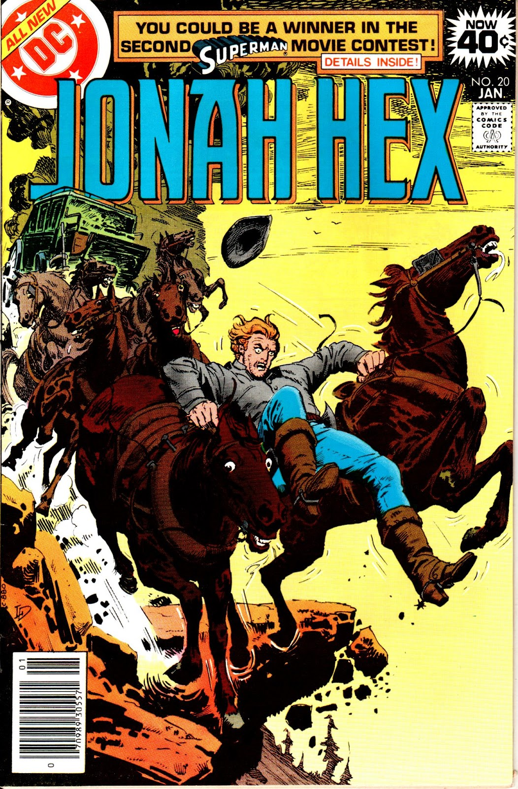 Jonah Hex (1977) 20 Page 1