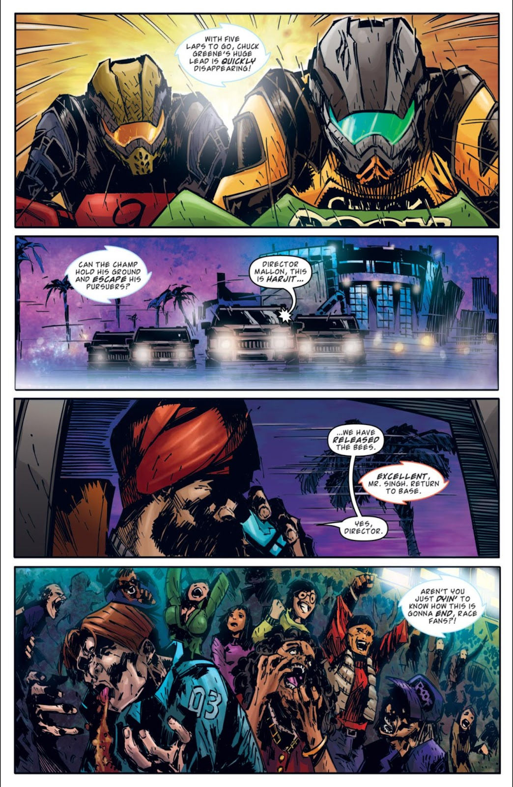 Read online Dead Rising: Road to Fortune comic -  Issue #3 - 12