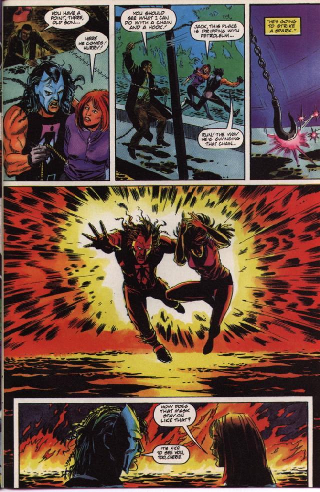 Read online Shadowman (1992) comic -  Issue #36 - 21