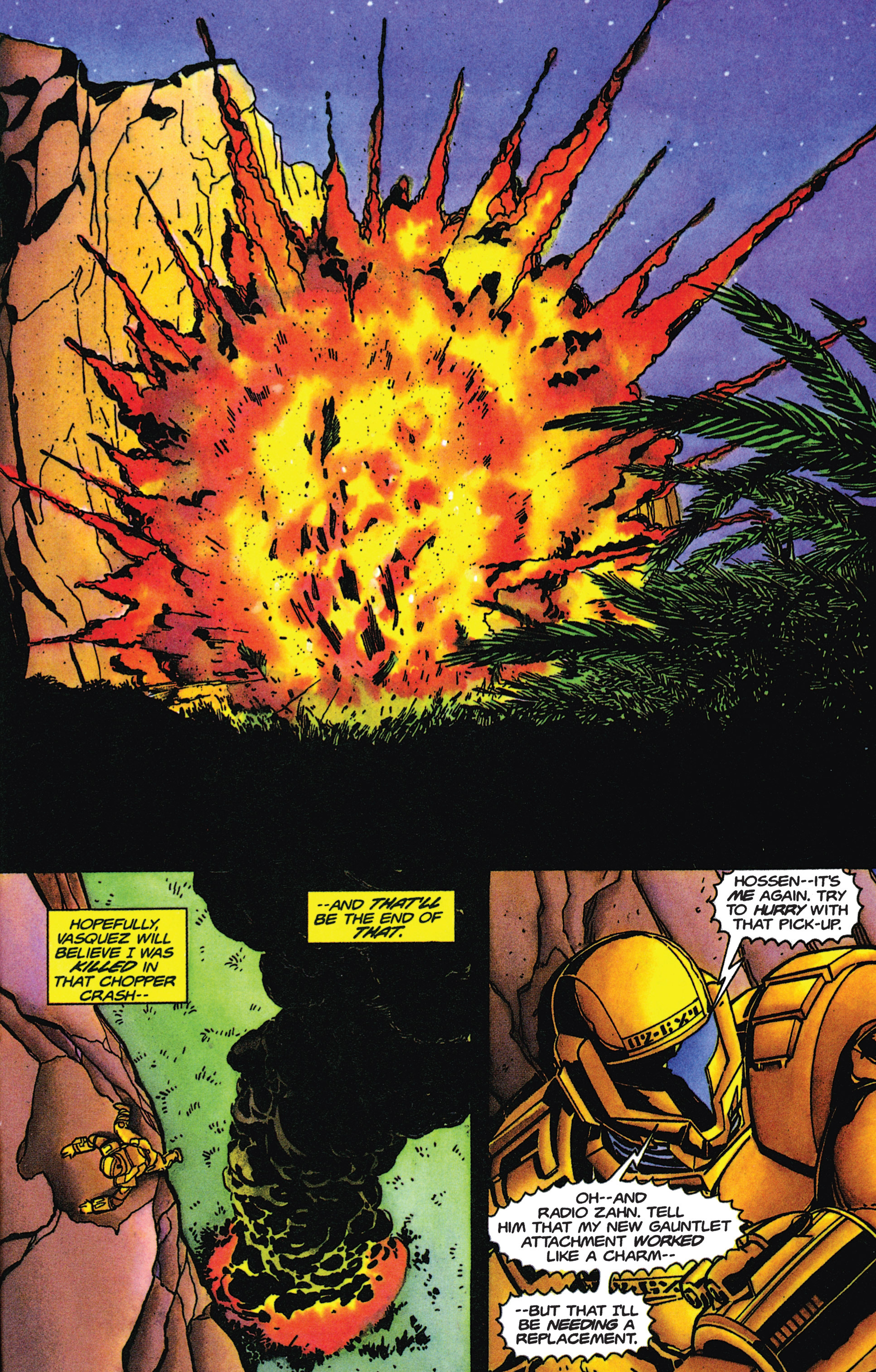 Read online Armorines comic -  Issue #9 - 21