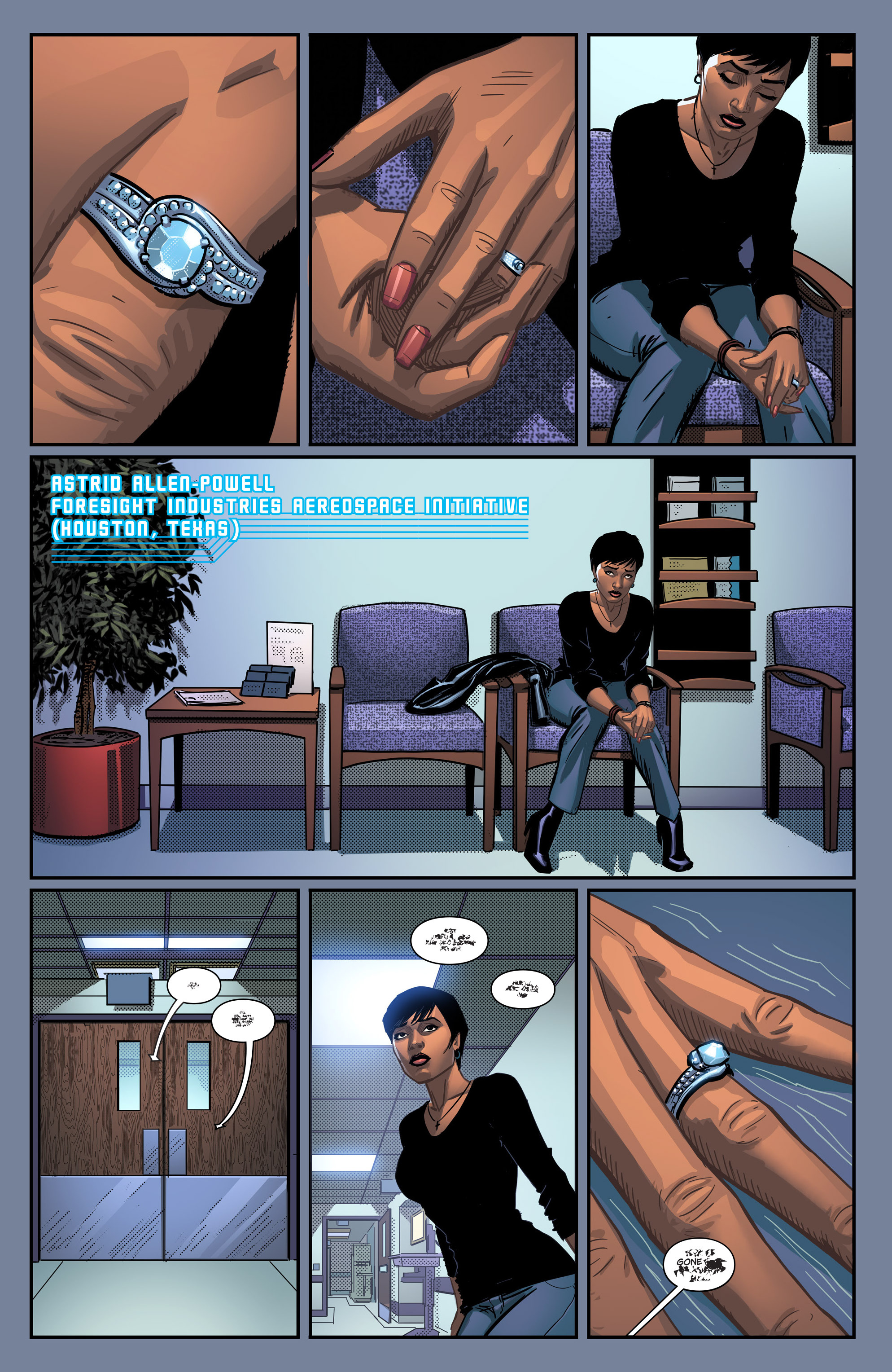 Read online Noble comic -  Issue #1 - 3