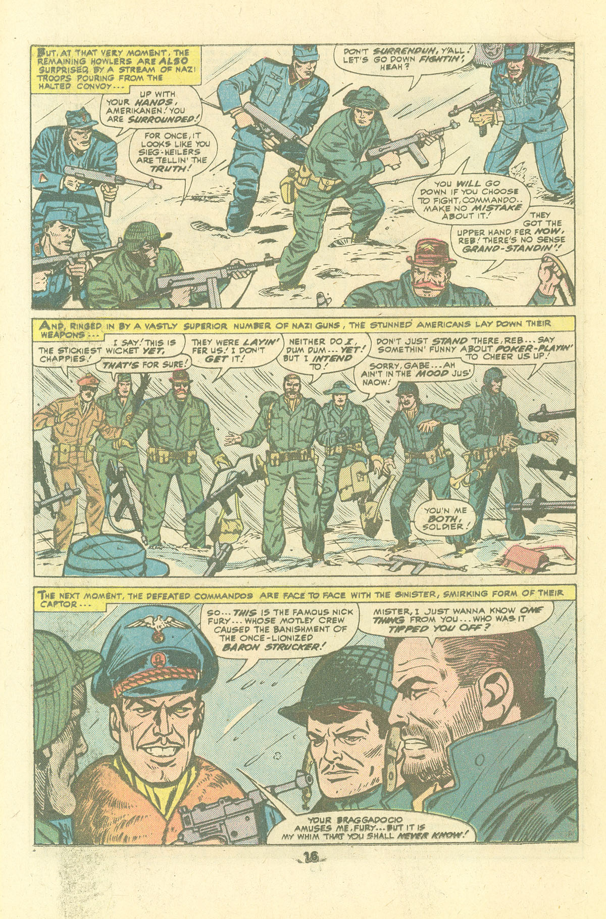 Read online Sgt. Fury comic -  Issue #134 - 18