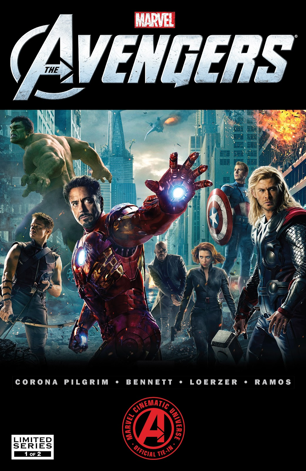 Read online Marvel's The Avengers comic -  Issue #1 - 1