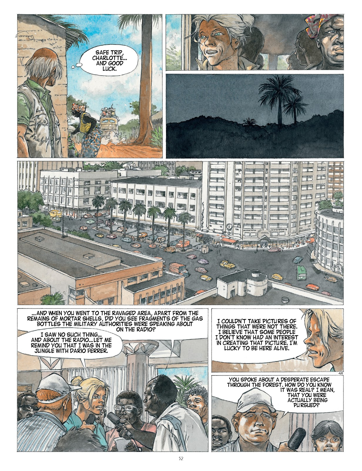 Read online Afrika comic -  Issue # TPB - 52